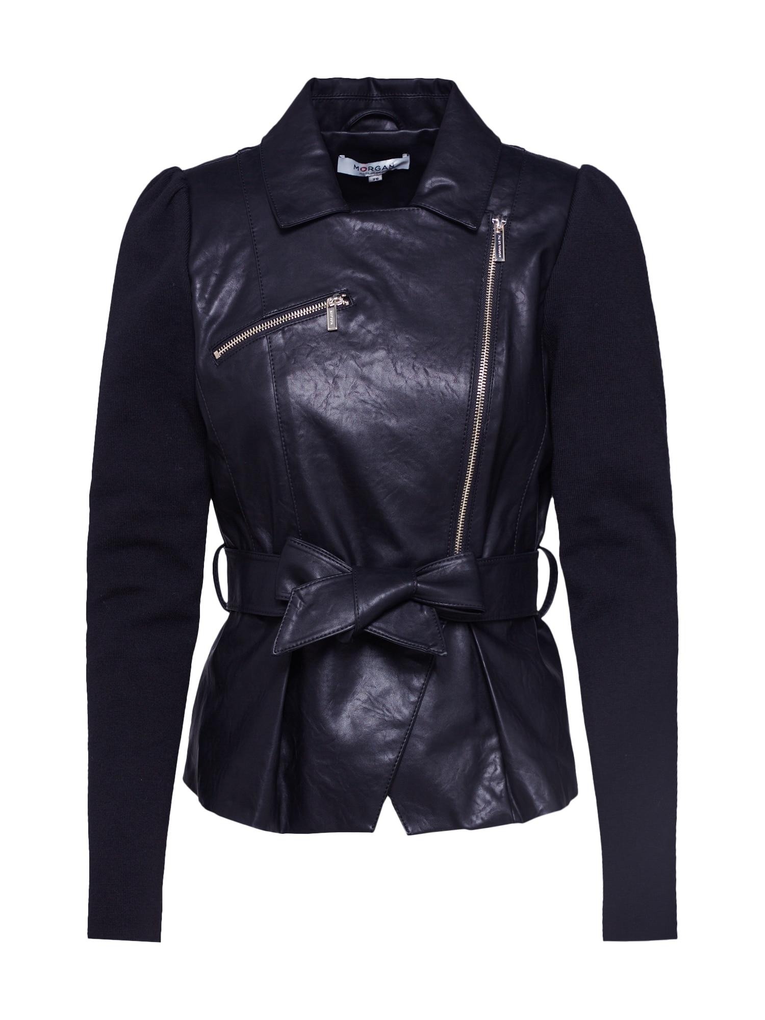Morgan Prechodná bunda  čierna