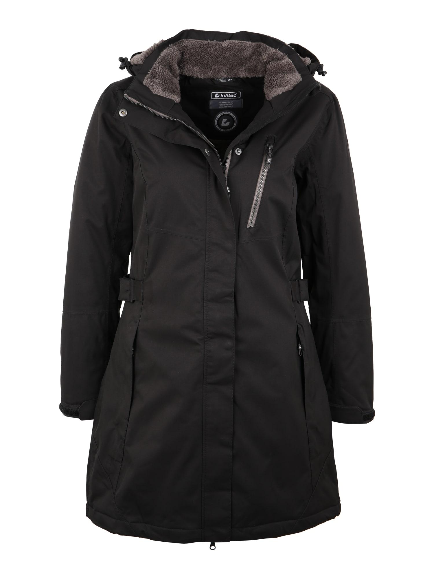 Outdoorový kabát Alisi černá KILLTEC