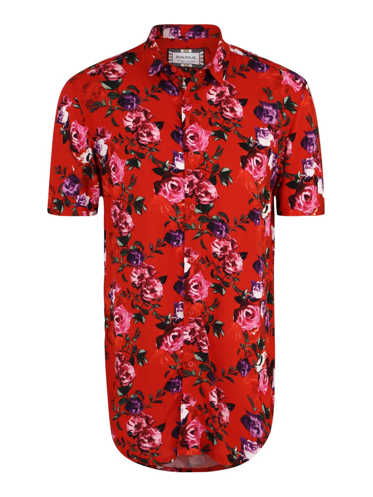 Košile červená SikSilk