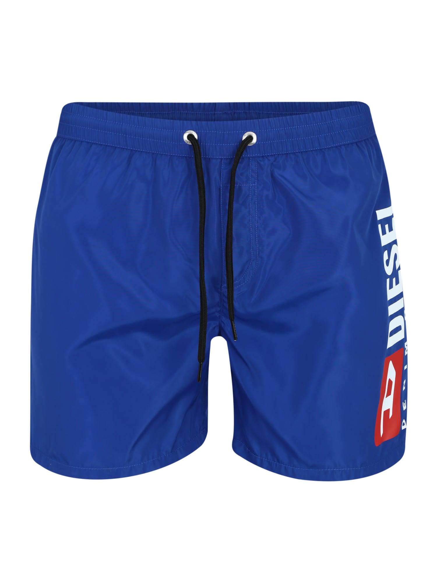 Plavecké šortky SW Boxer Medium modrá DIESEL