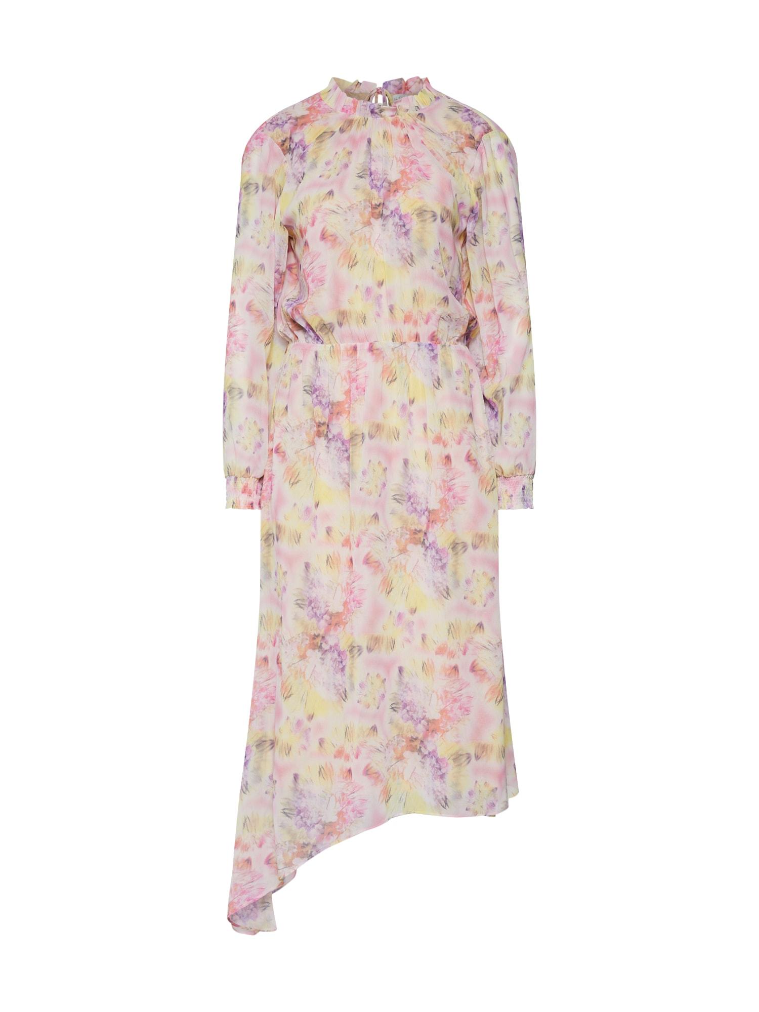 Letní šaty Dahlia béžová NORR
