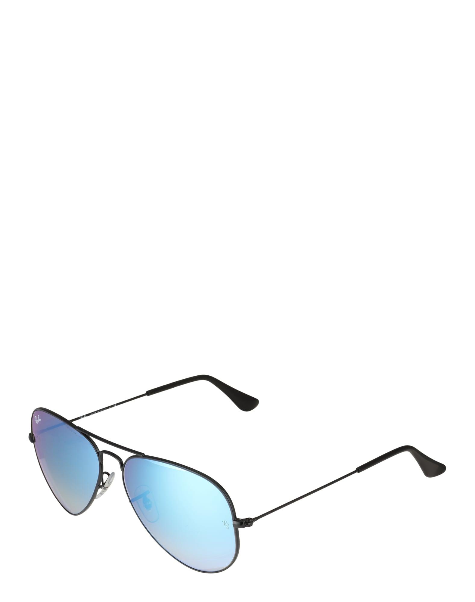 Ray-Ban Sluneční brýle 'Aviator'  modrá / černá