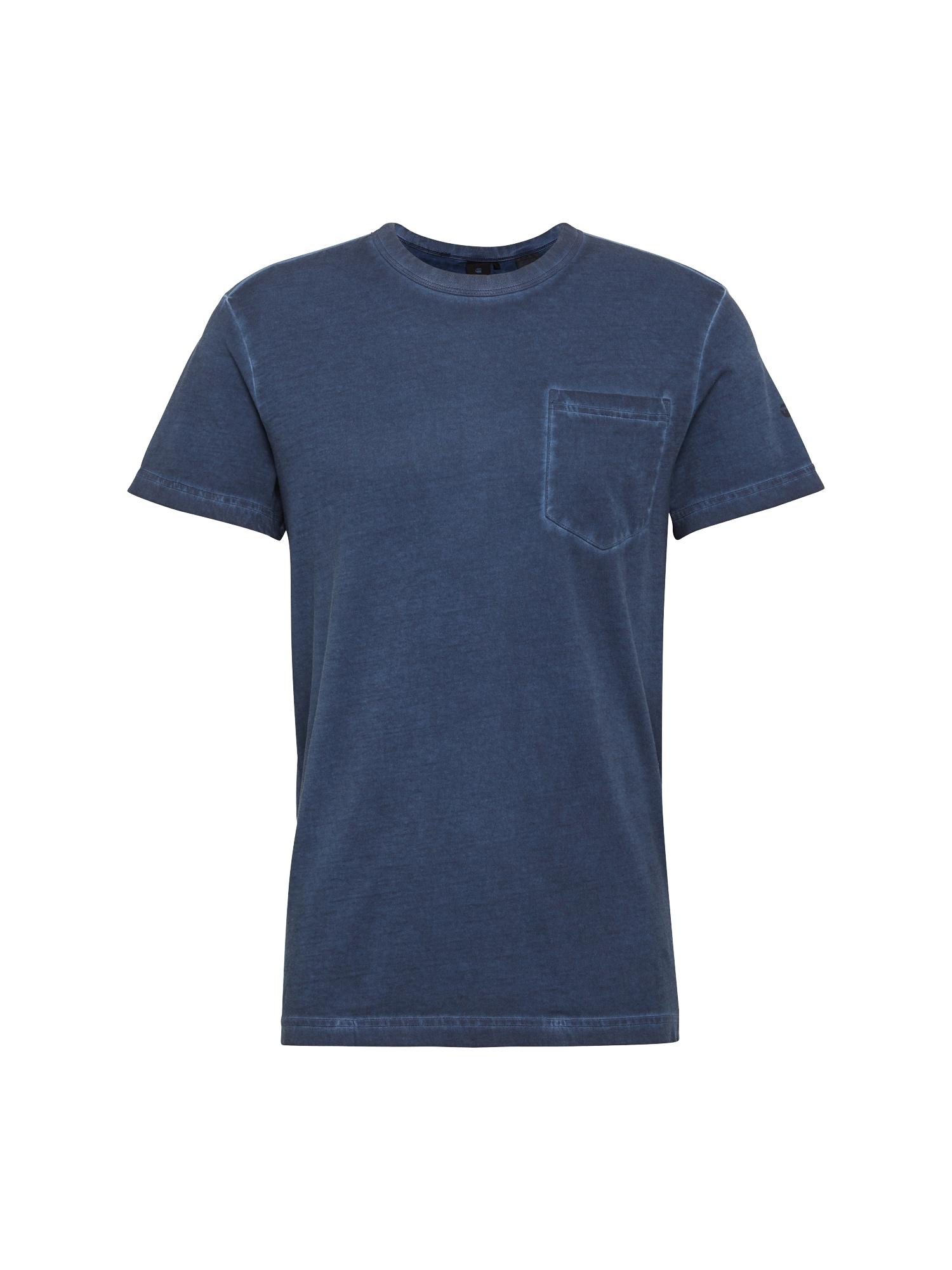 G-STAR RAW Heren Shirt Dill pocket r t s s donkerblauw