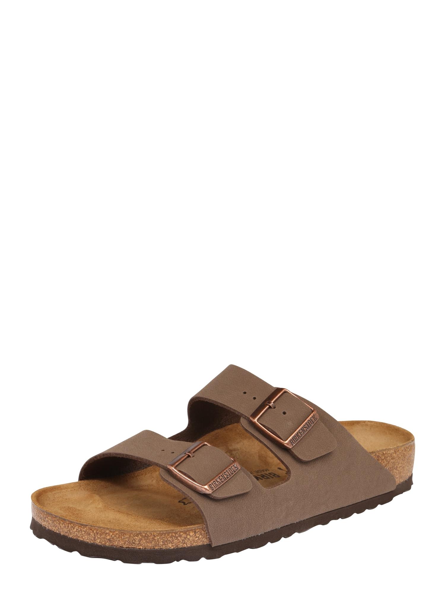 Pantofle Arizona mokka BIRKENSTOCK