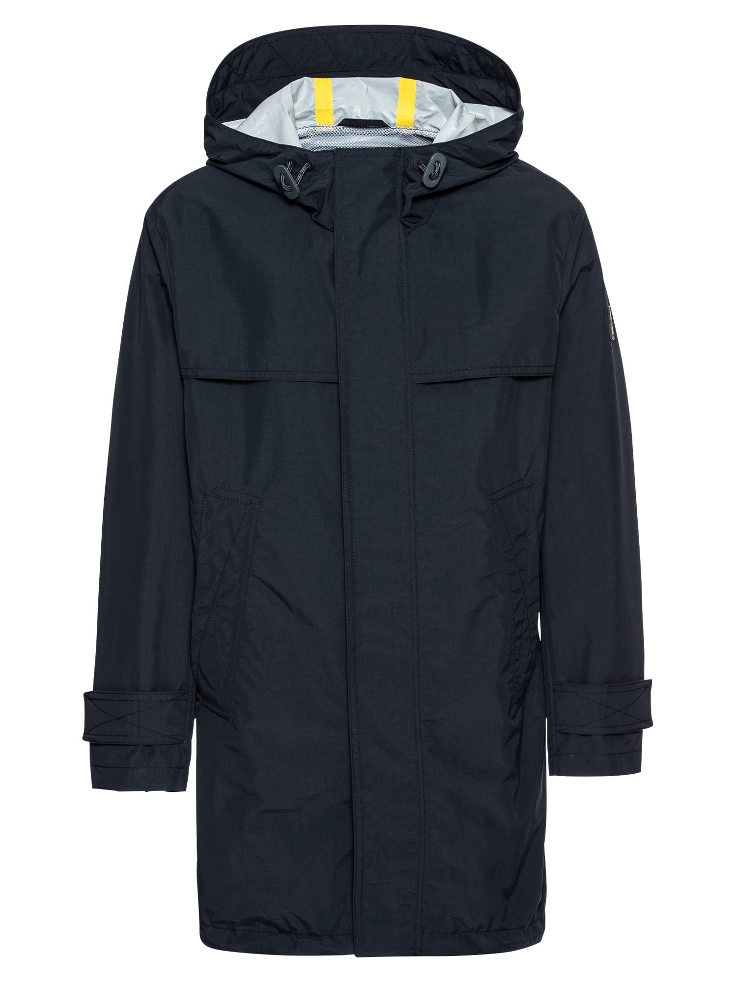 Přechodný kabát Urain tmavě modrá BOSS