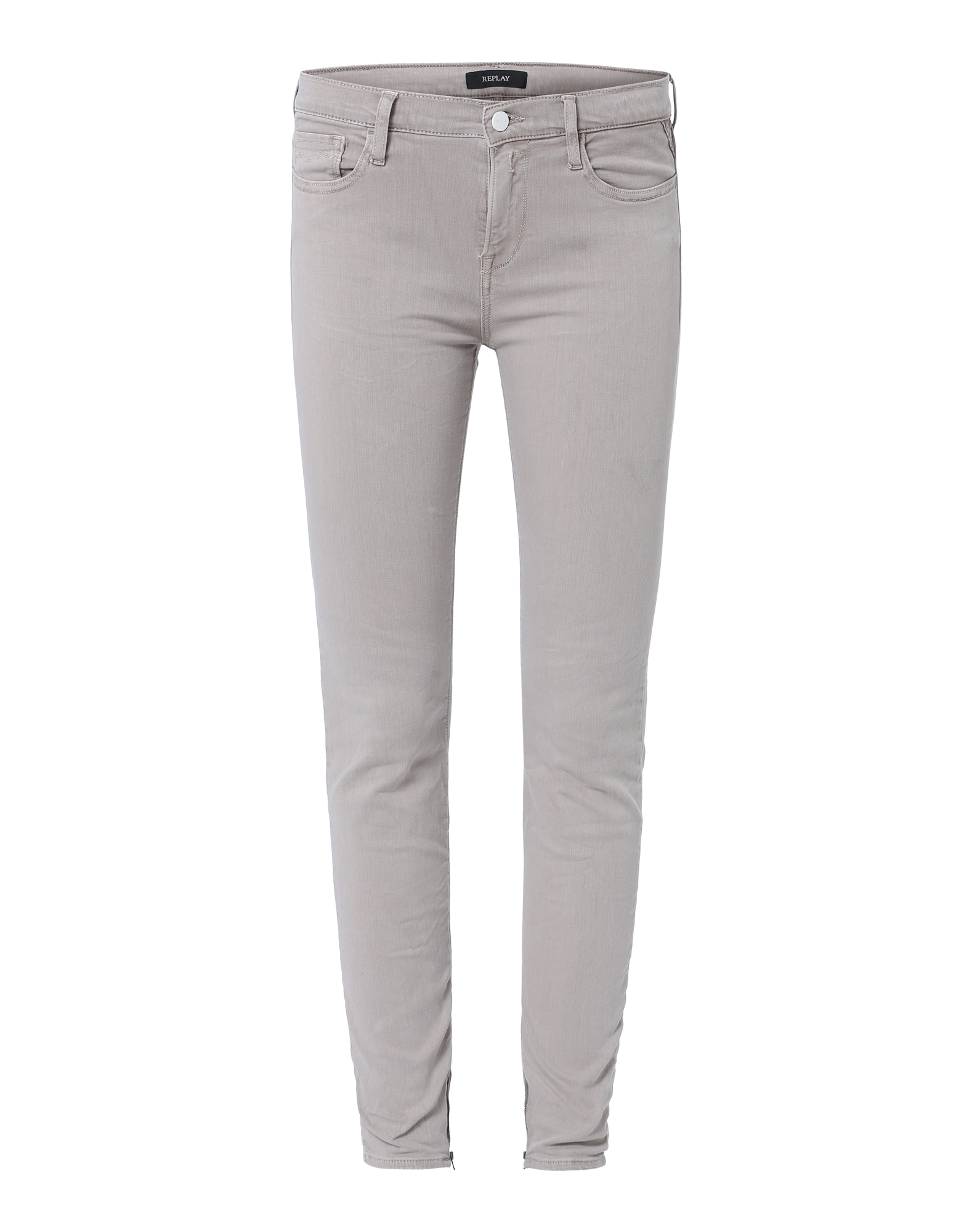 REPLAY Dames Jeans Joi beige