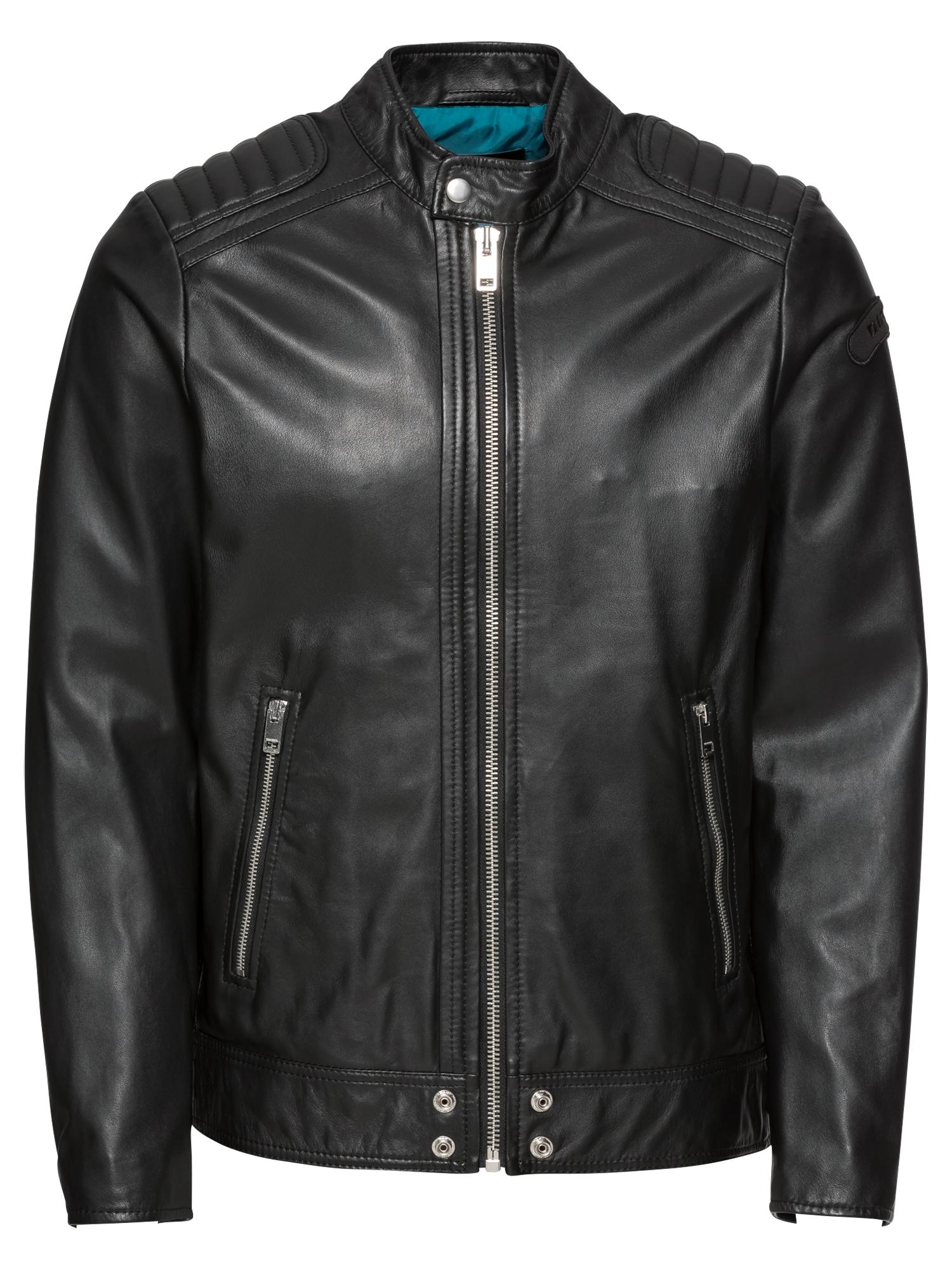 Přechodná bunda L-SHIRO černá DIESEL