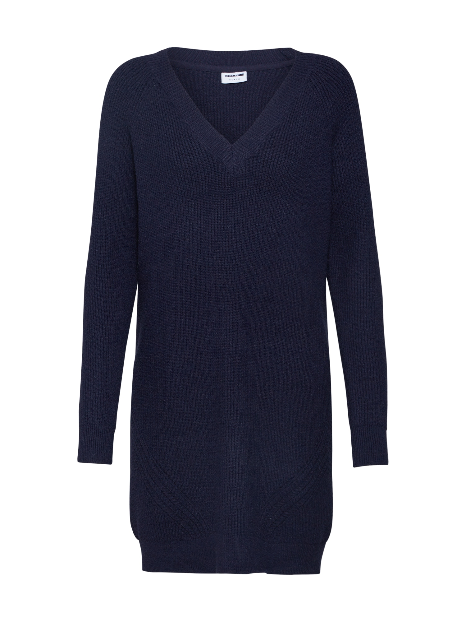 Úpletové šaty tmavě modrá Noisy May