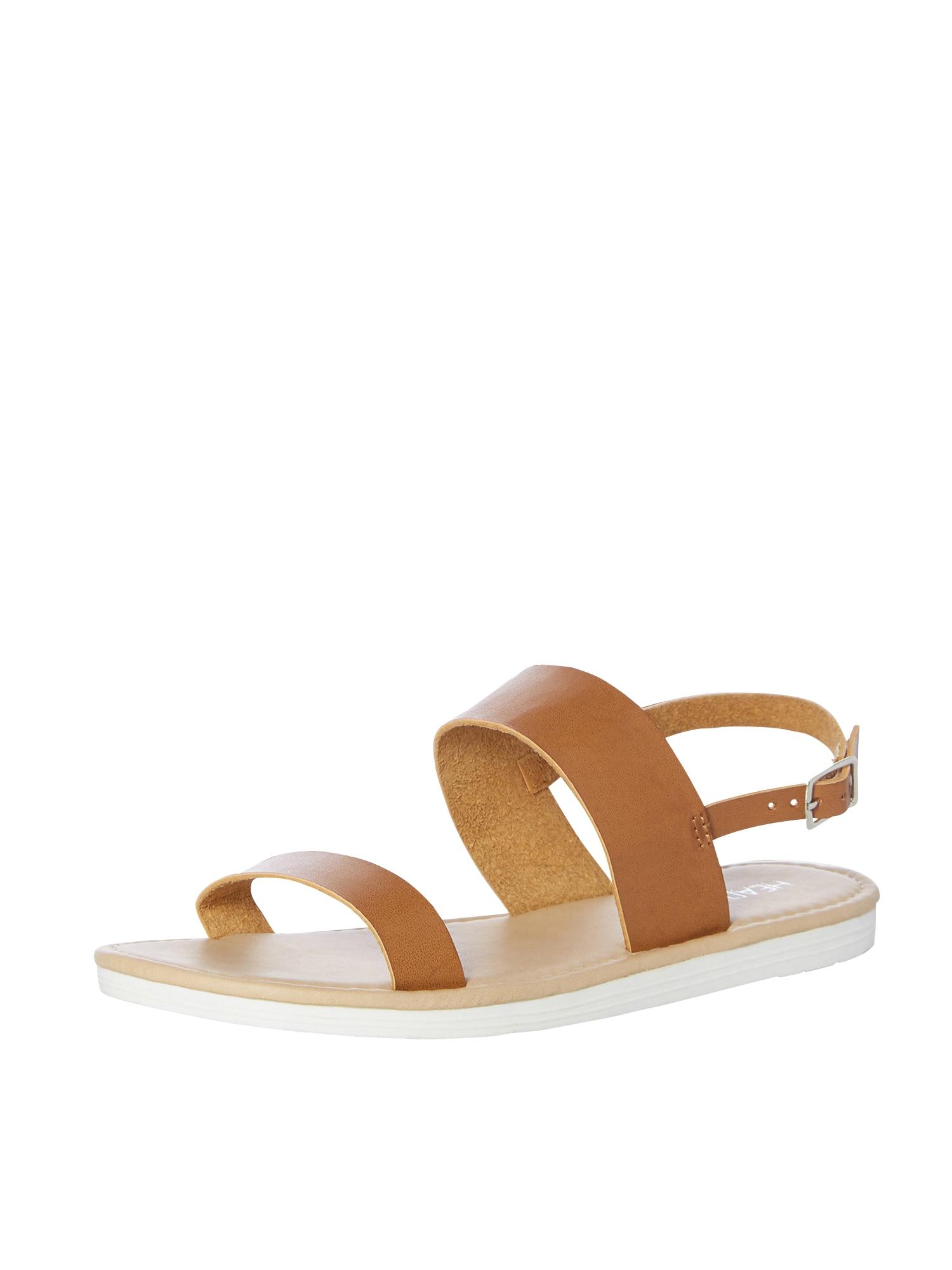 Páskové sandály Laila koňaková Head Over Heels