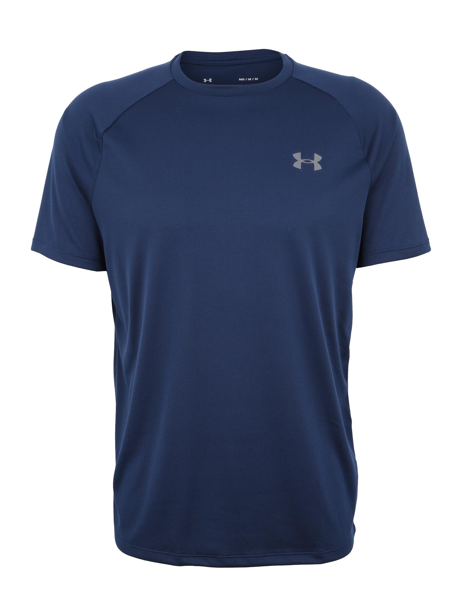 UNDER ARMOUR Funkční tričko 'Tech 2.0'  tmavě modrá