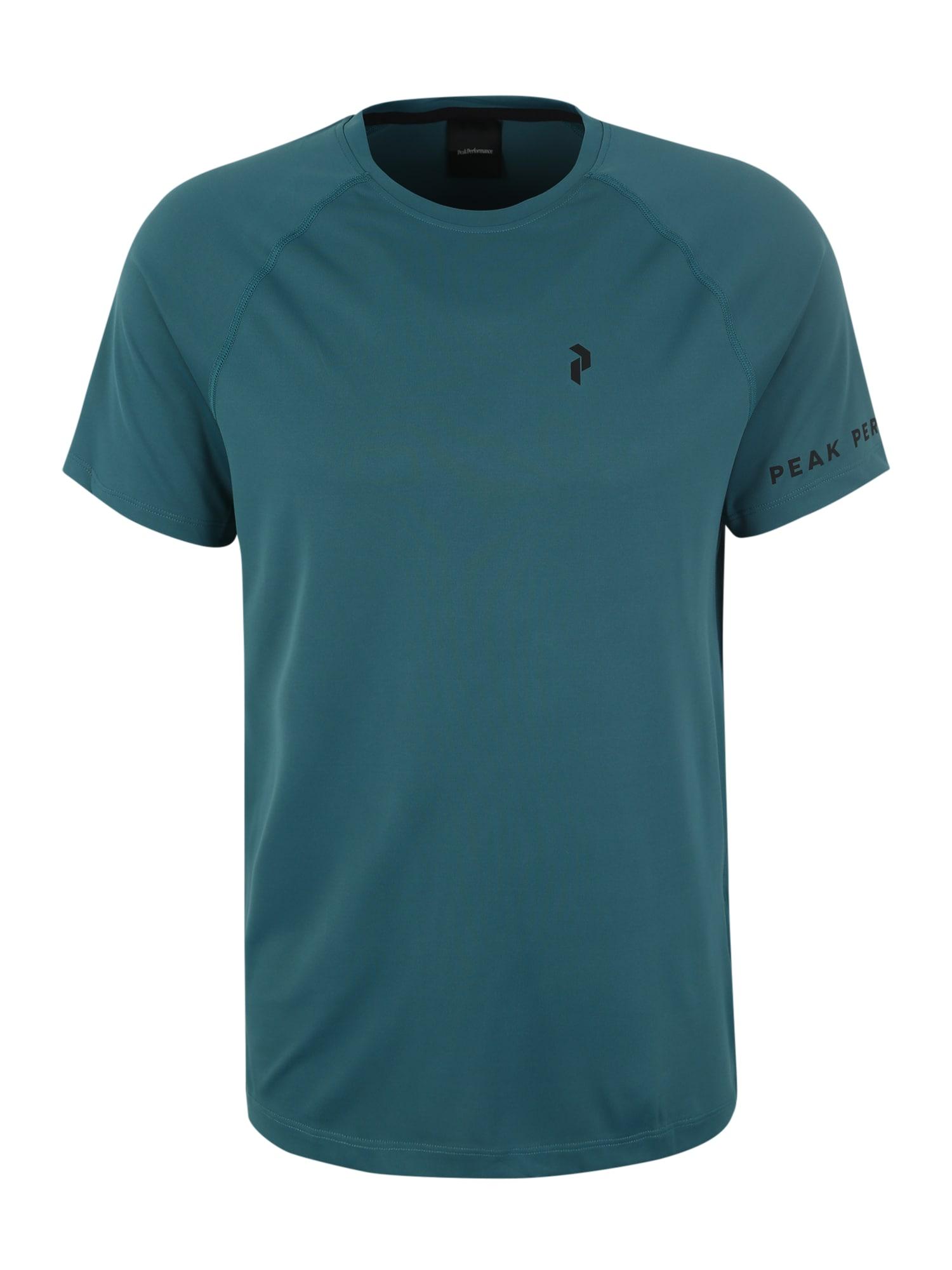 Funkční tričko zelená černá PEAK PERFORMANCE