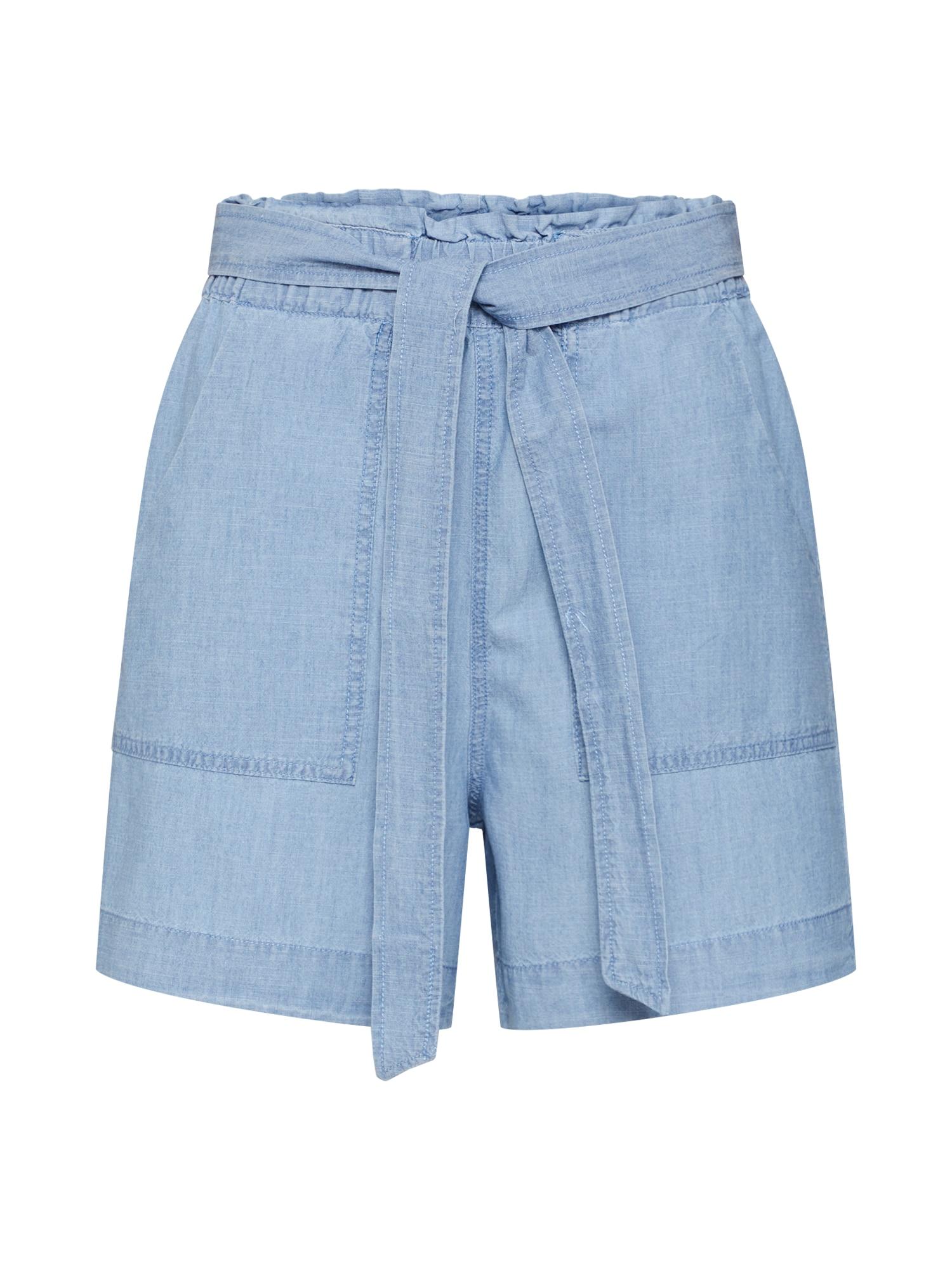 Kalhoty VMEMILY modrá džínovina VERO MODA