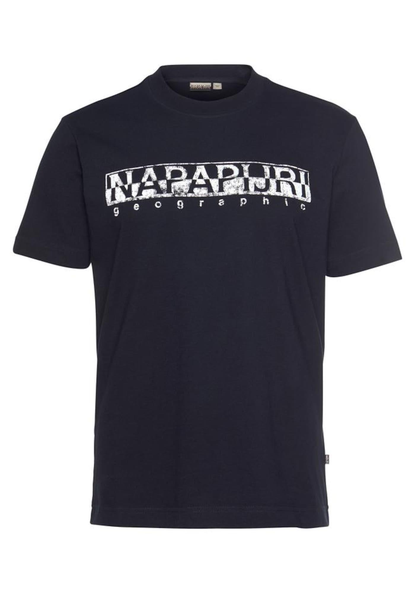 NAPAPIJRI Tričko  modrá / bílá