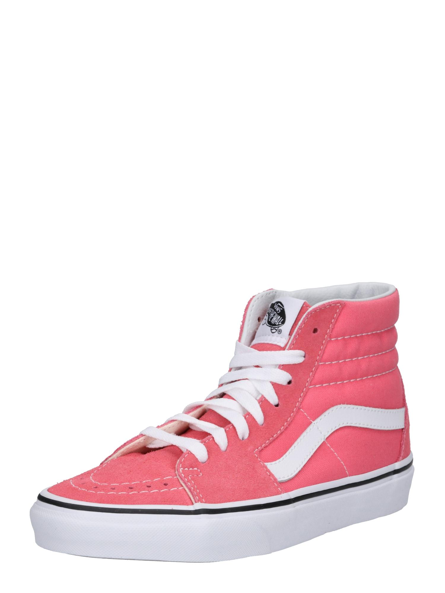 VANS, Dames Sneakers hoog 'UA SK8-Hi', pink / wit