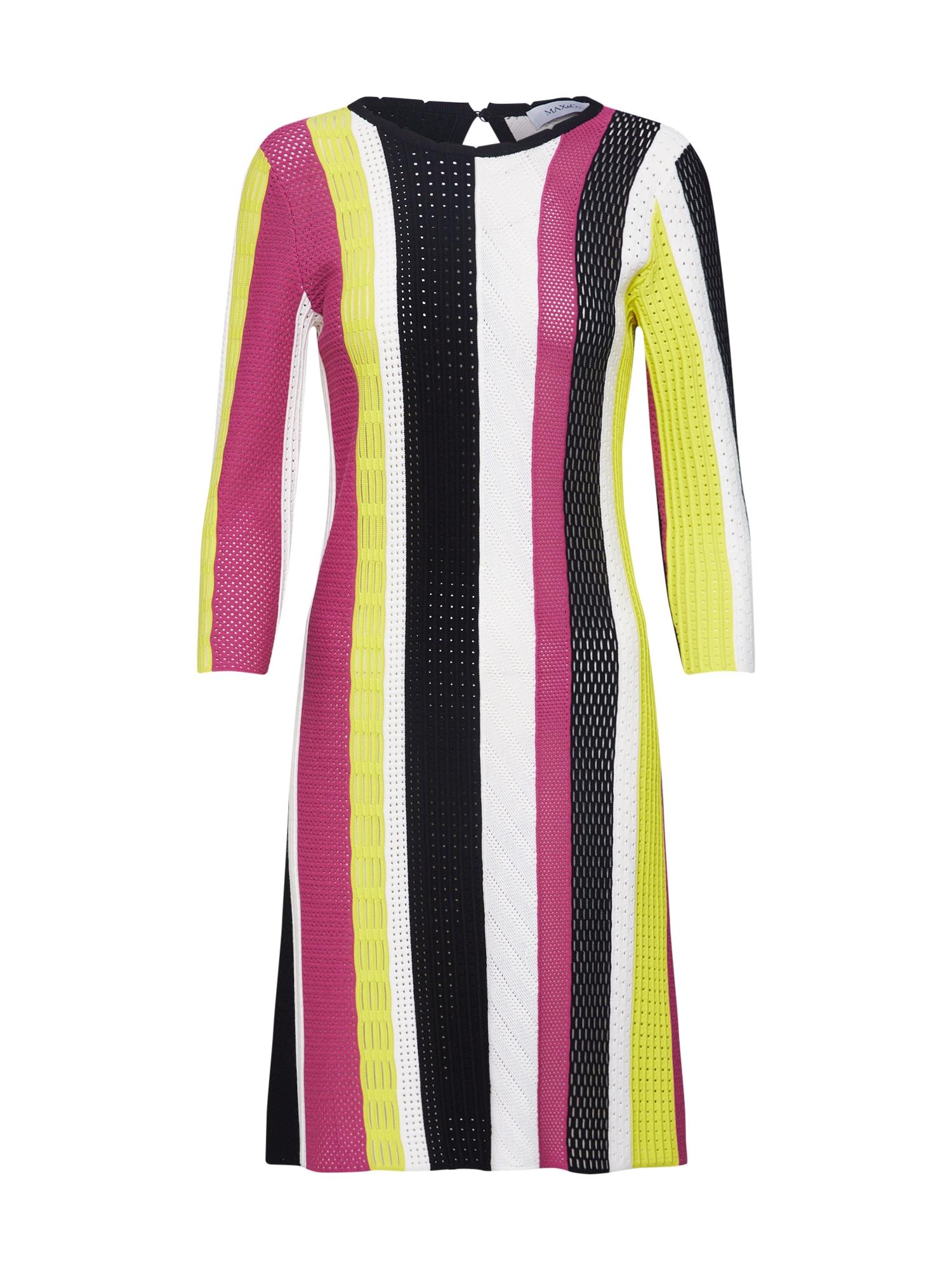 Úpletové šaty CUBA mix barev MAX&Co.
