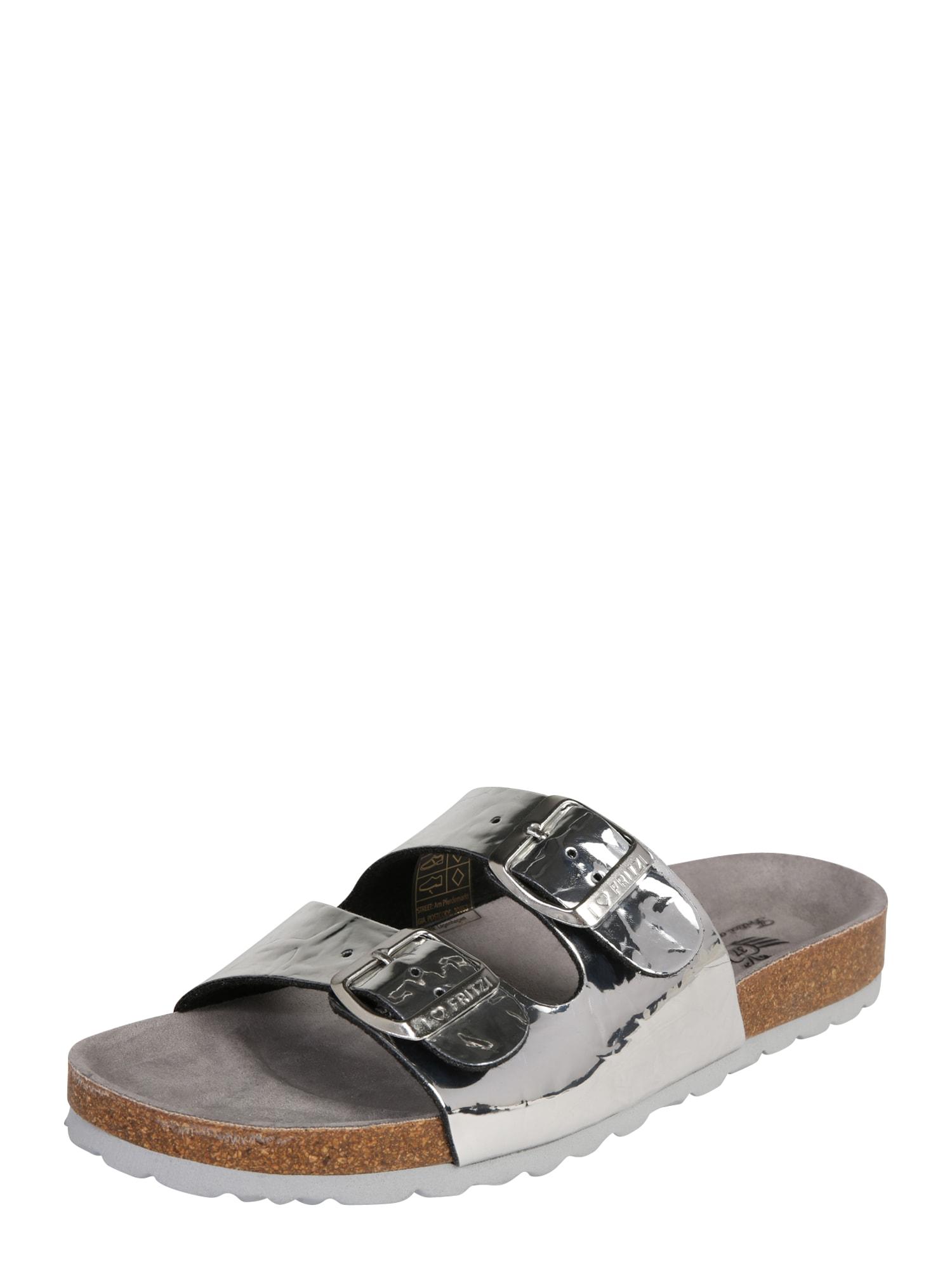 Pantofle Sylvy stříbrná Fritzi Aus Preußen