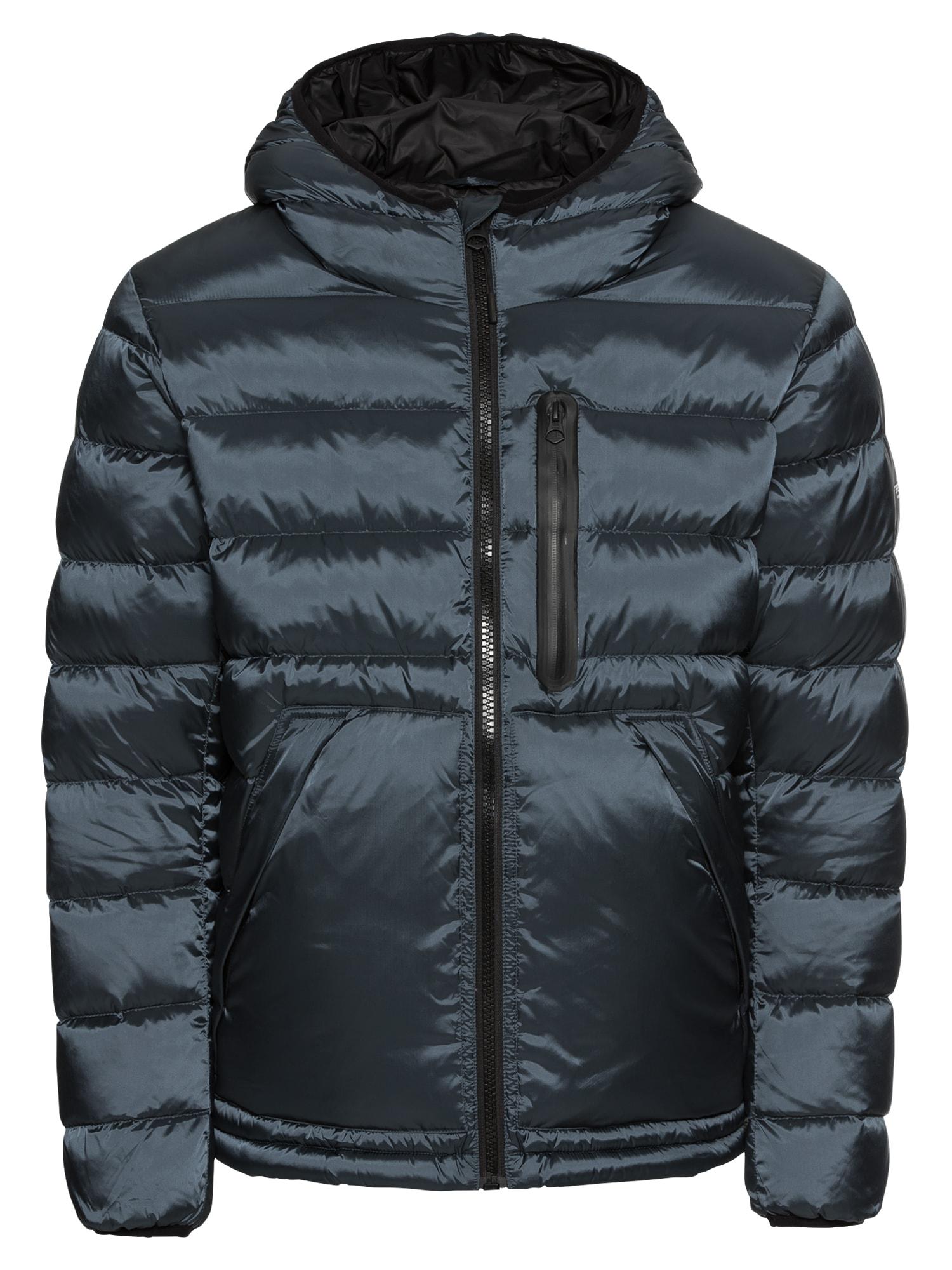 Zimní bunda Dover chladná modrá Pepe Jeans