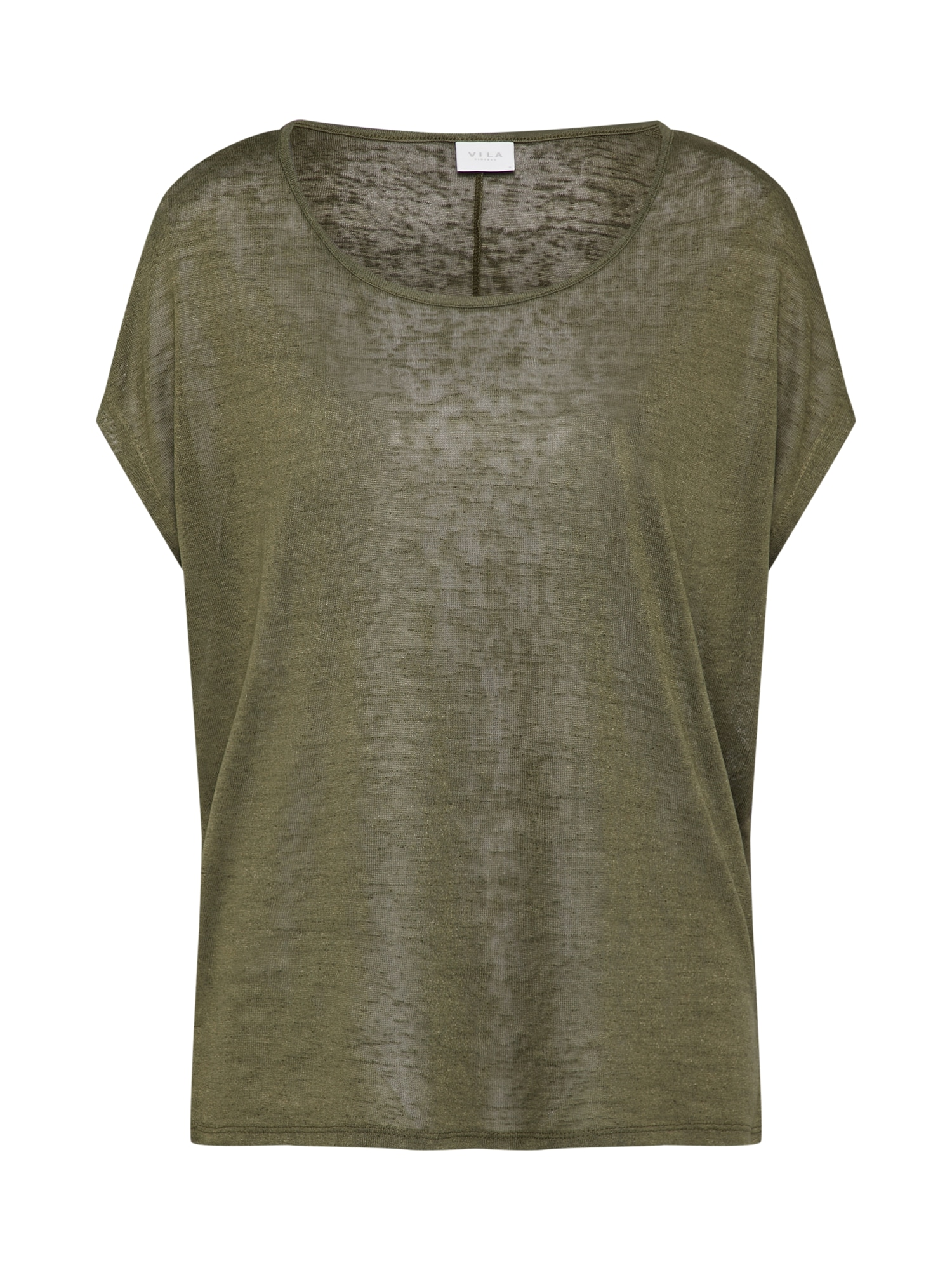 VILA, Dames Shirt 'Visumi', groen