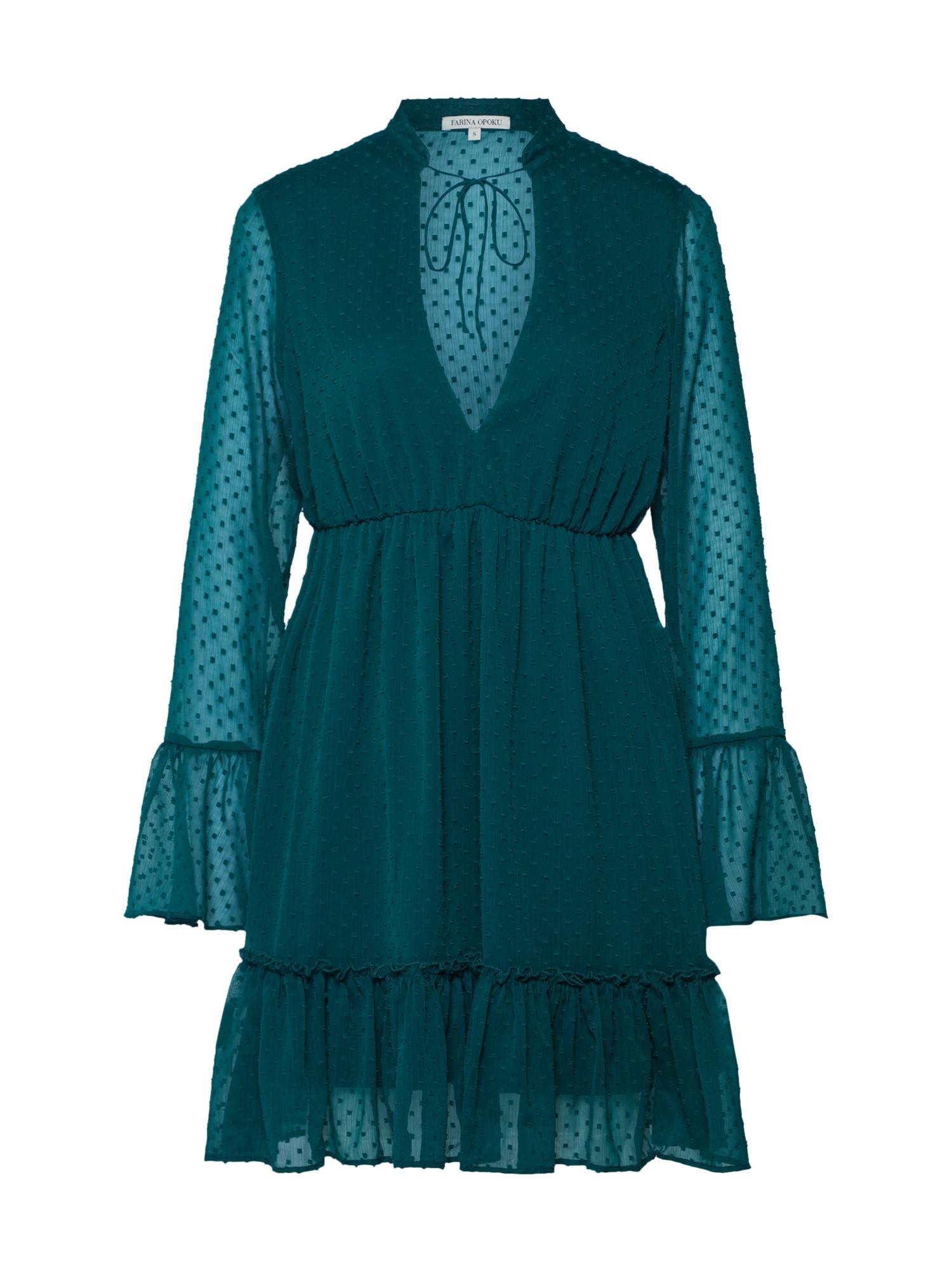 Šaty YADLEEN zelená Farina Opoku