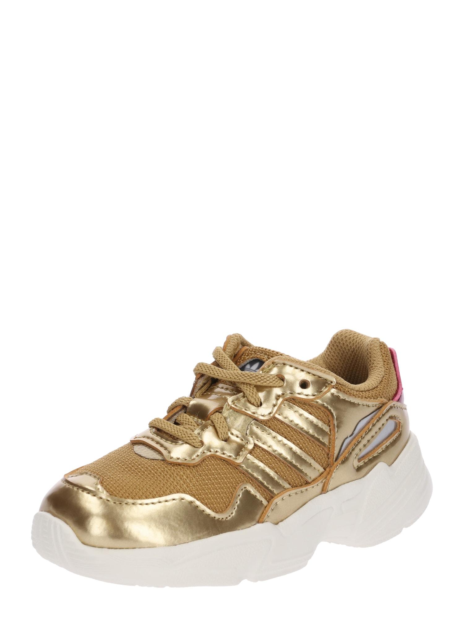 ADIDAS ORIGINALS, Meisjes Sneakers 'YUNG-96 EL I', goud