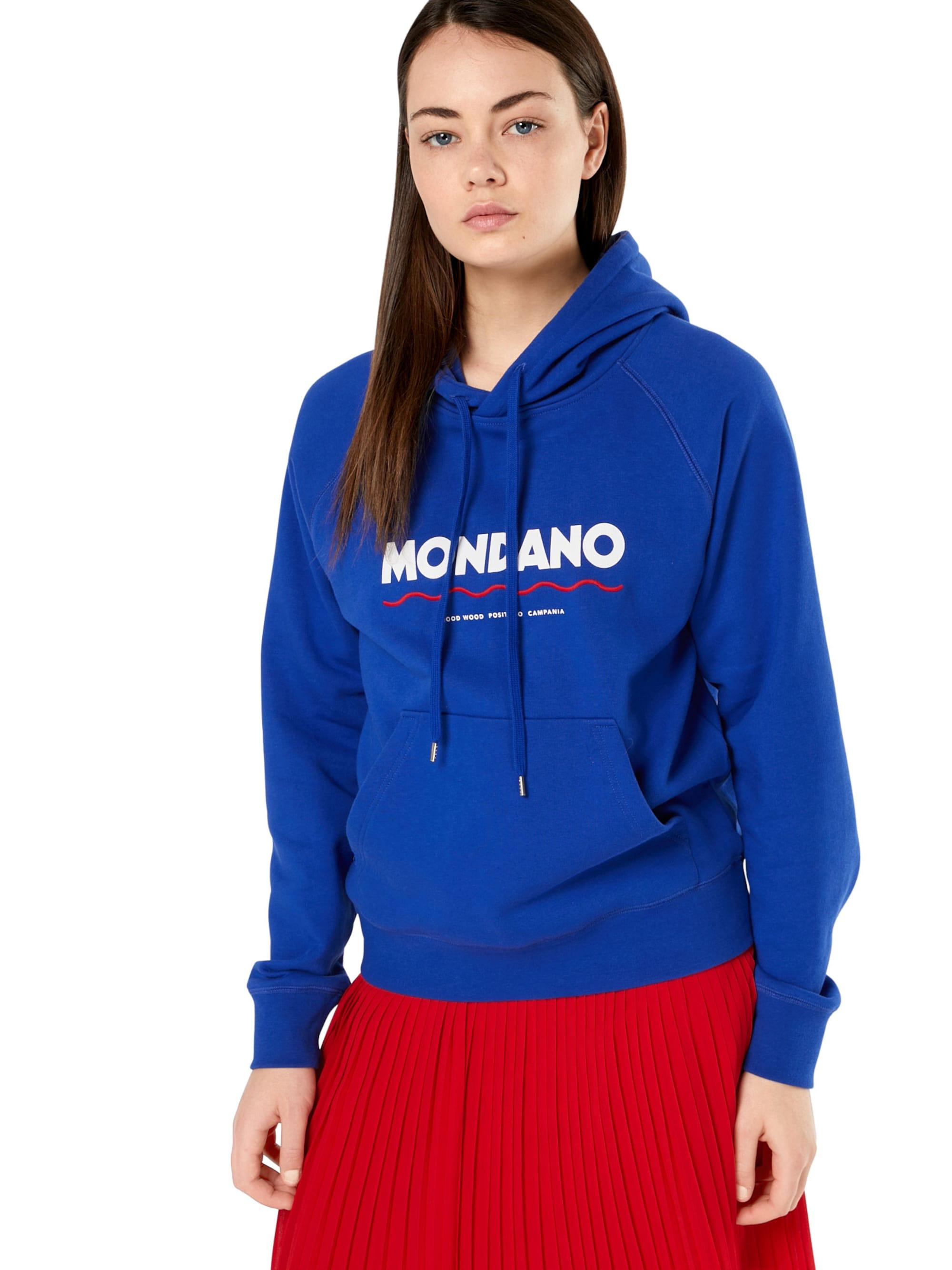 WOOD WOOD Bluzka sportowa 'PENELOPE'  niebieski