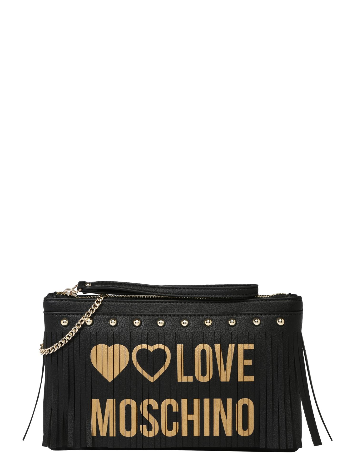 Psaníčko BORSA PU NERO černá Love Moschino