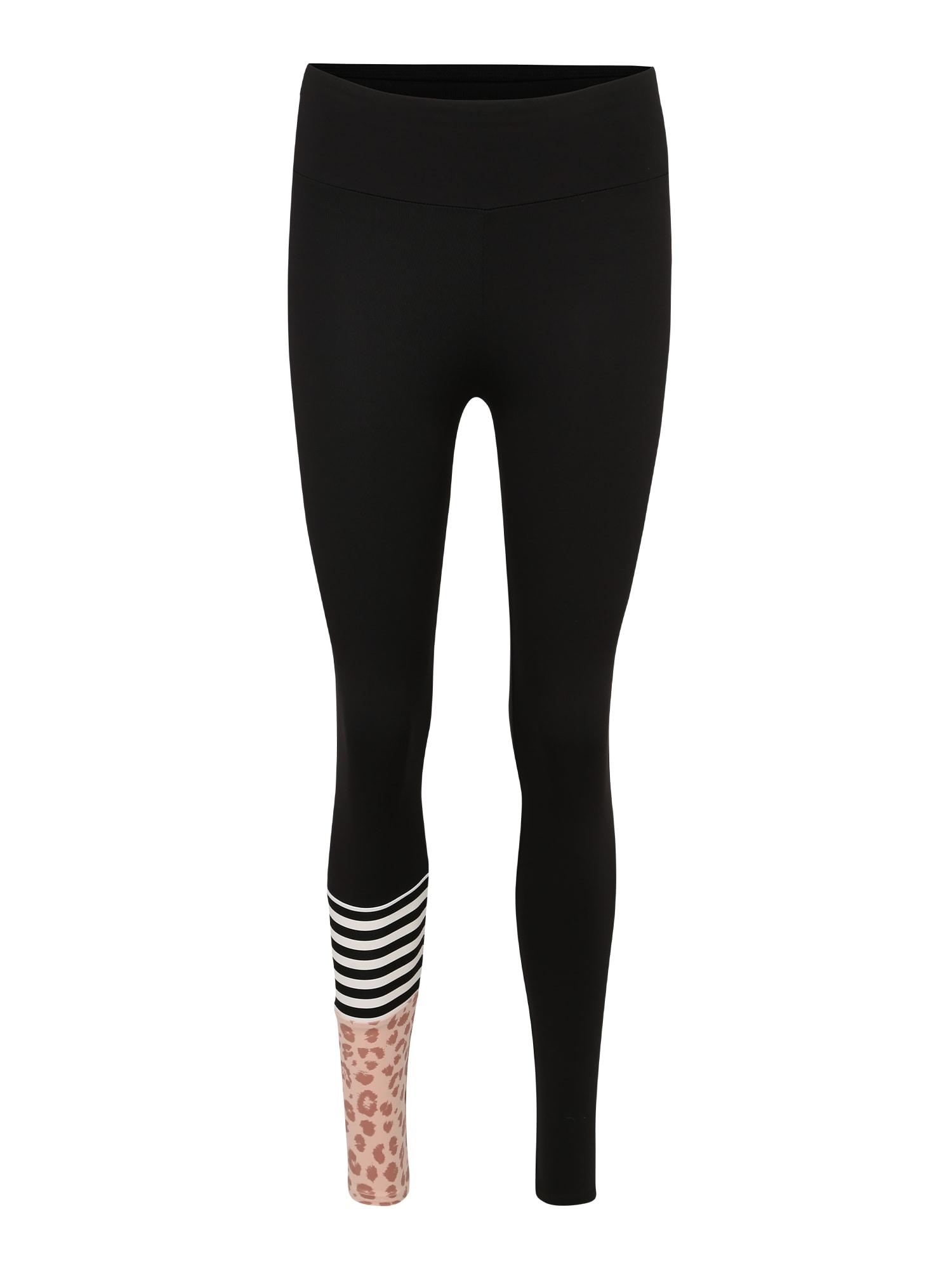 Sportovní kalhoty růžová černá Hey Honey