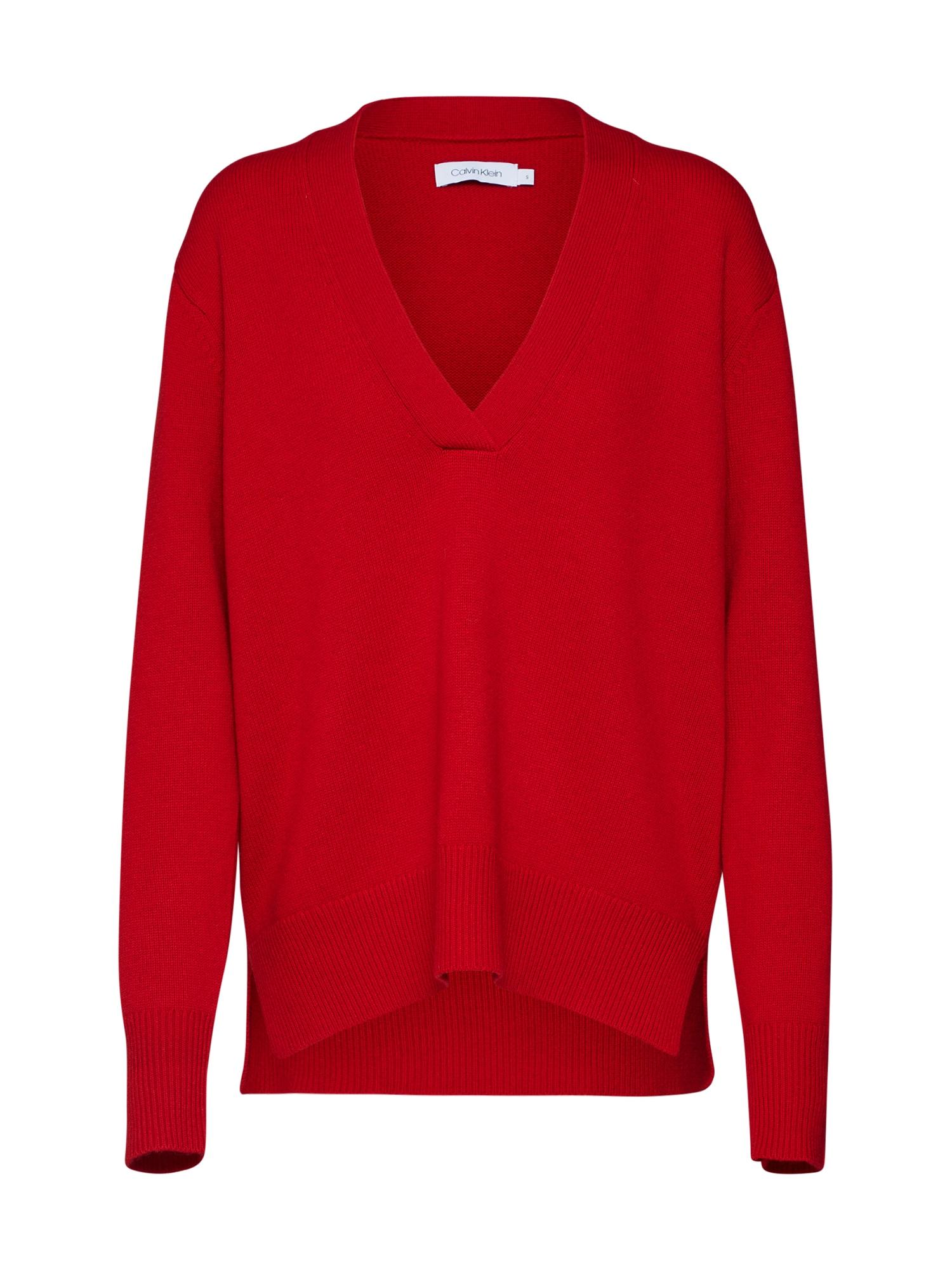 Svetr červená Calvin Klein