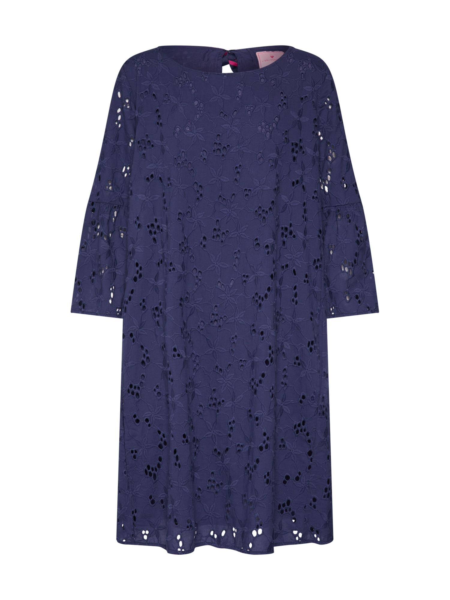 Šaty ElsitaK  tmavě modrá LIEBLINGSSTÜCK