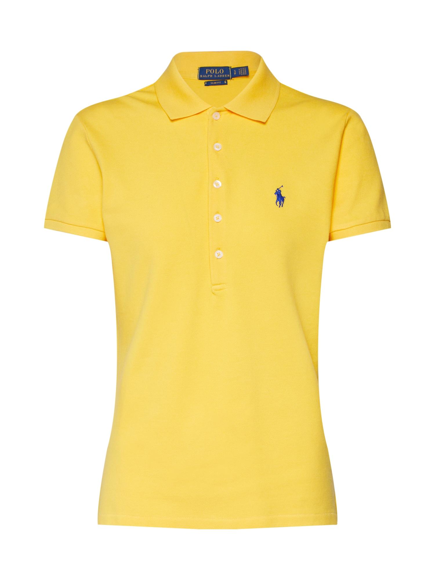 Tričko JULIE žlutá POLO RALPH LAUREN