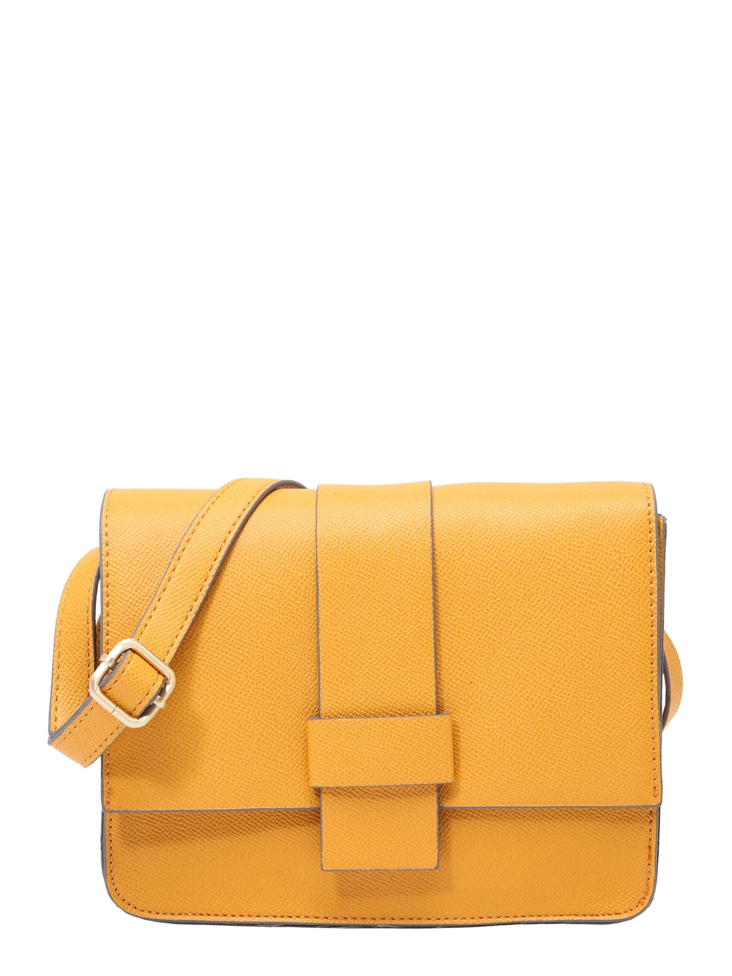 Taška přes rameno BE YOURSELF žlutá COMMA