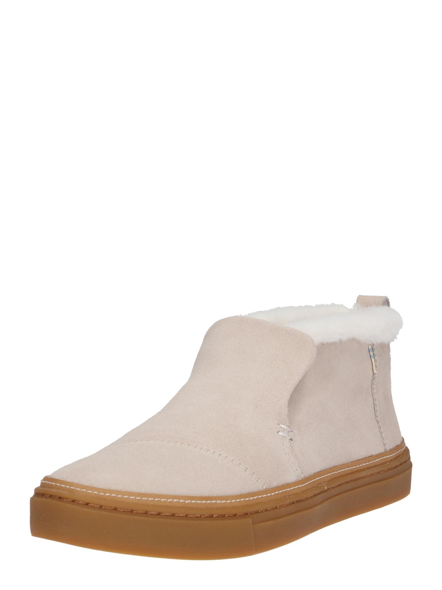 Slip on boty Paxton starobéžová TOMS