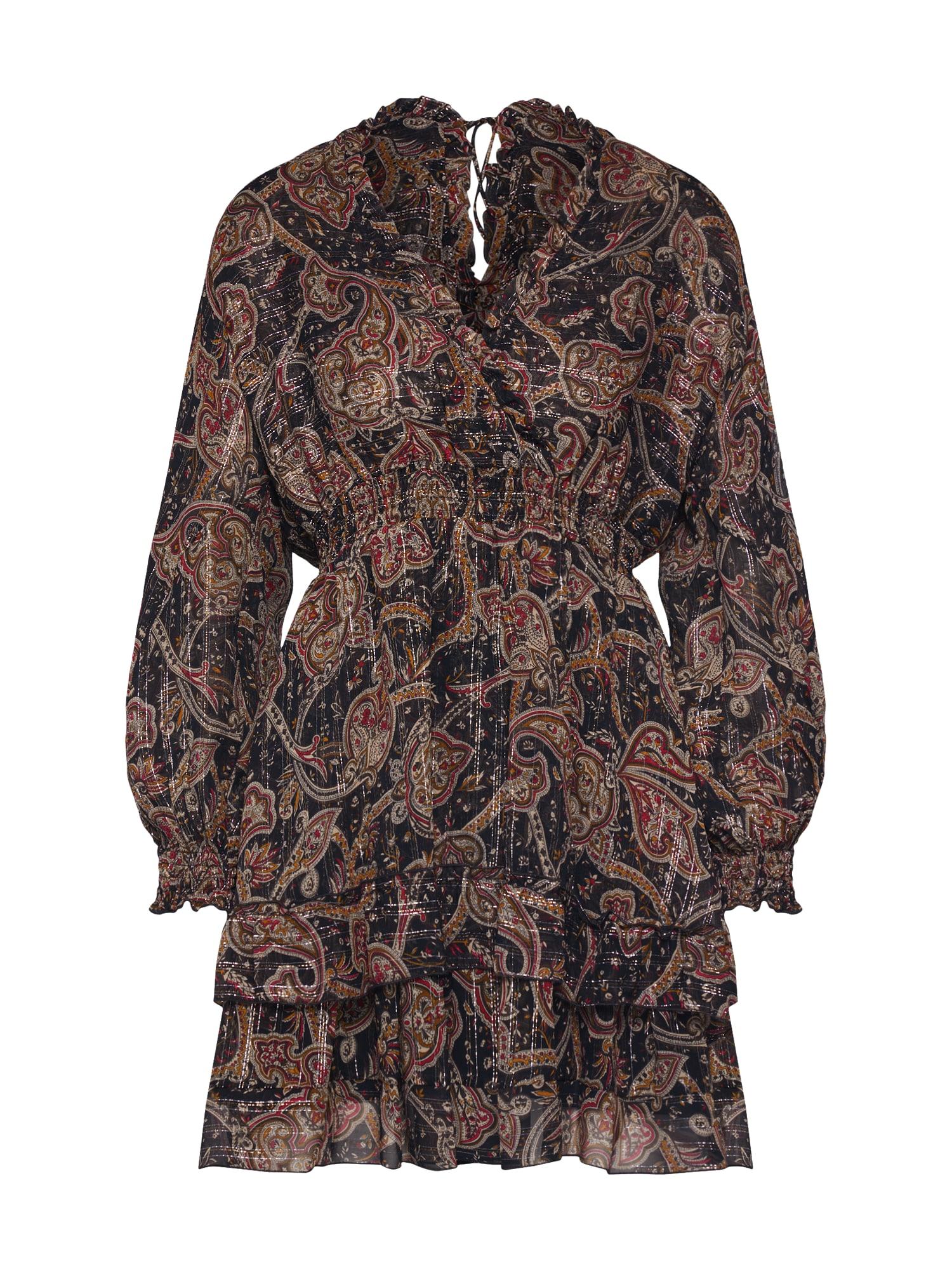 Šaty FROB19015K černá The Kooples