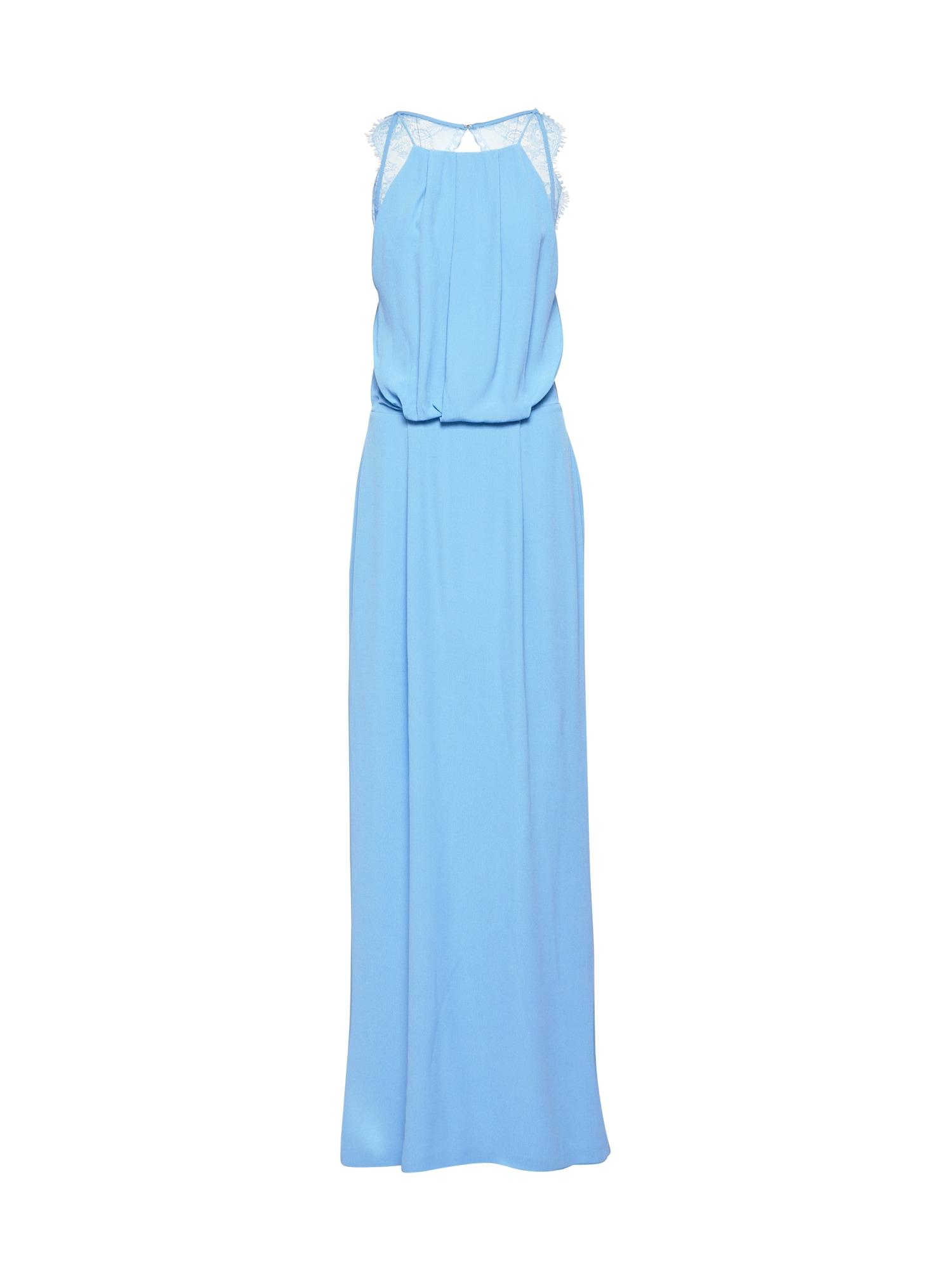 Společenské šaty Willow 5687 světlemodrá Samsoe & Samsoe