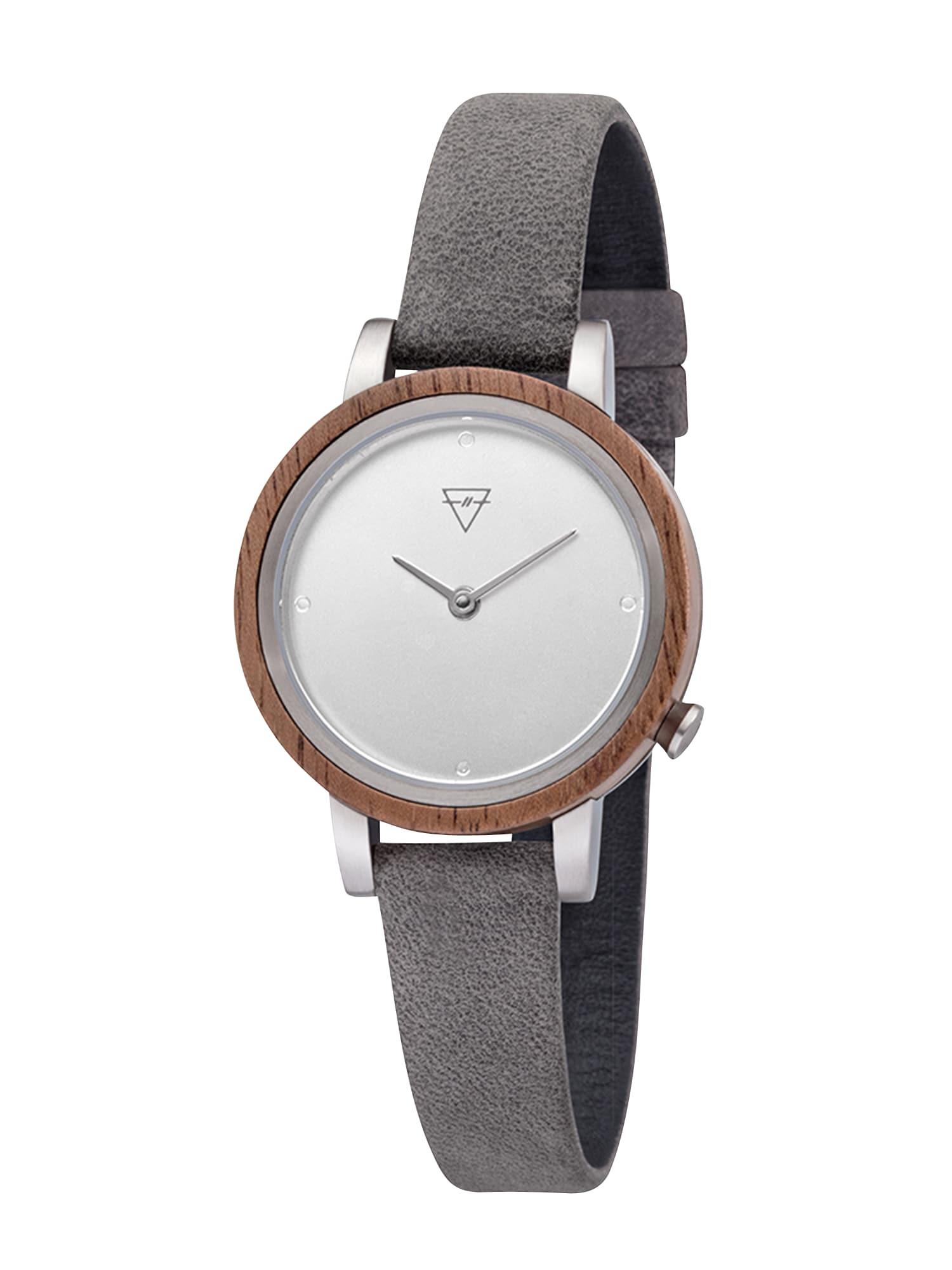 Analogové hodinky Luise tmavě šedá Kerbholz