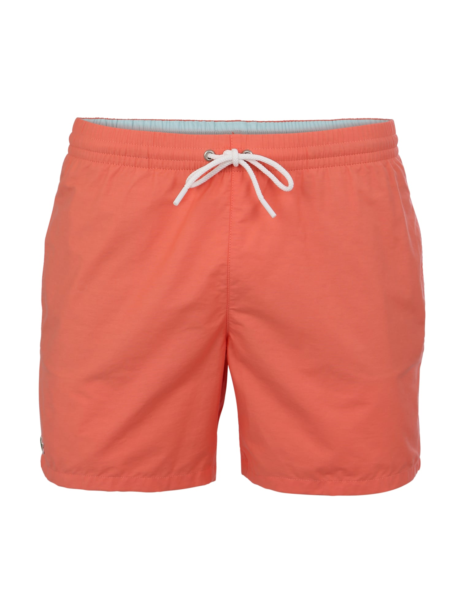 Plavecké šortky tmavě oranžová LACOSTE