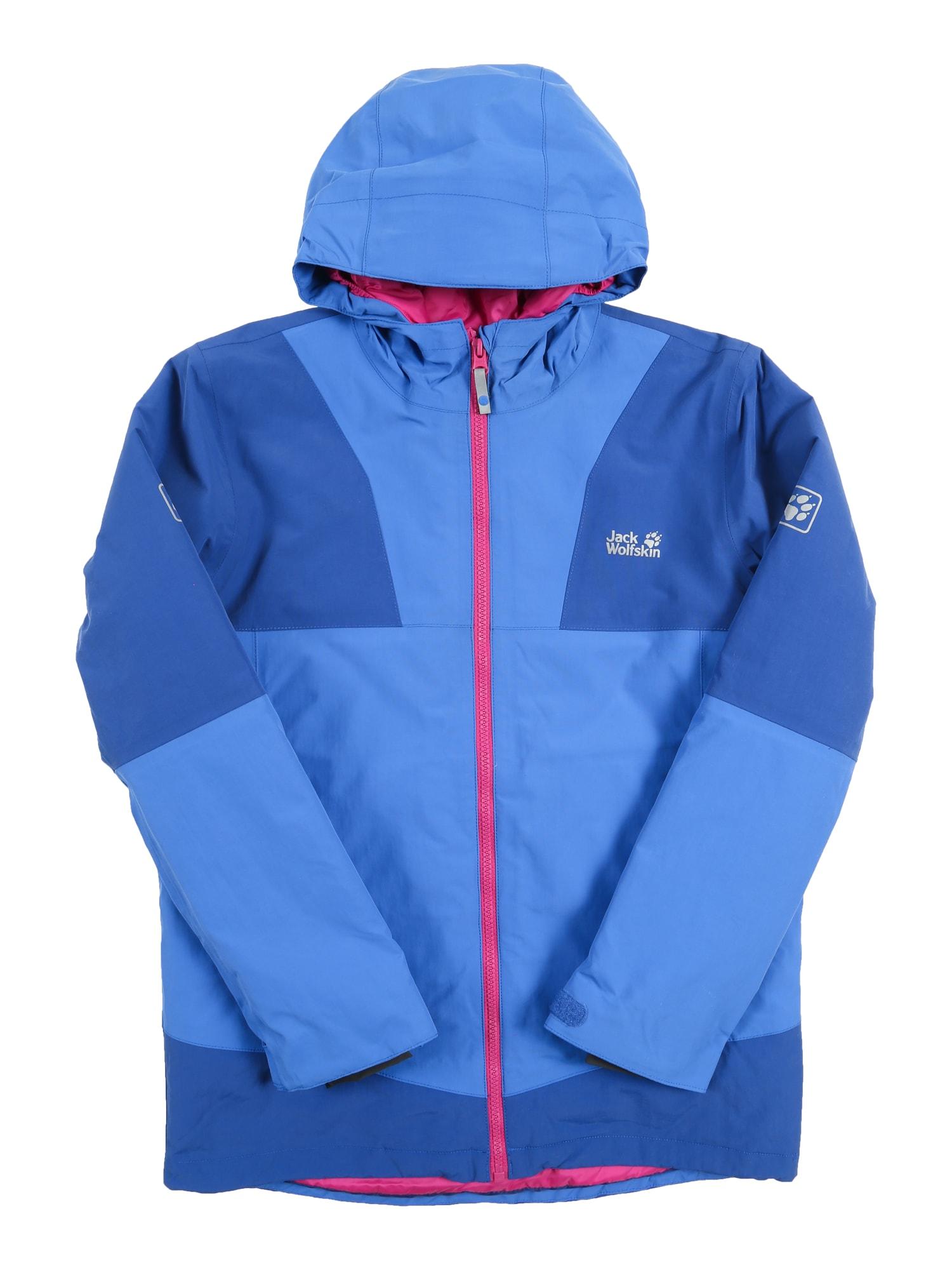 Zimní bunda SNOWSPORT modrá světlemodrá JACK WOLFSKIN