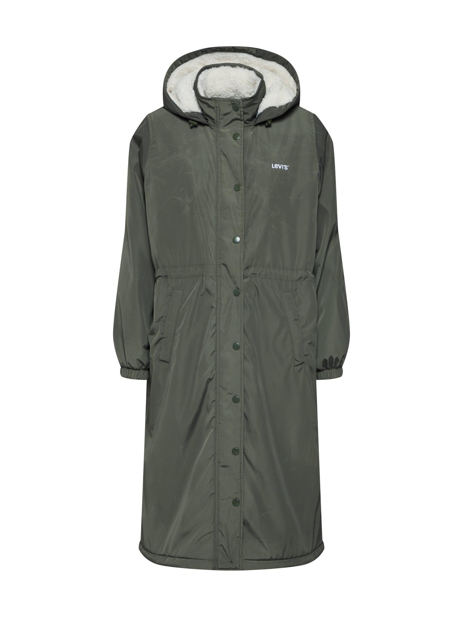 LEVIS Zimní kabát ESTELLE khaki LEVI'S