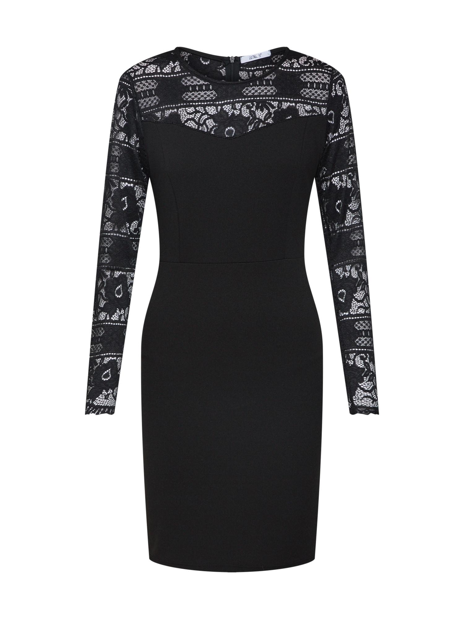 Koktejlové šaty SH P DR Karen černá Hailys