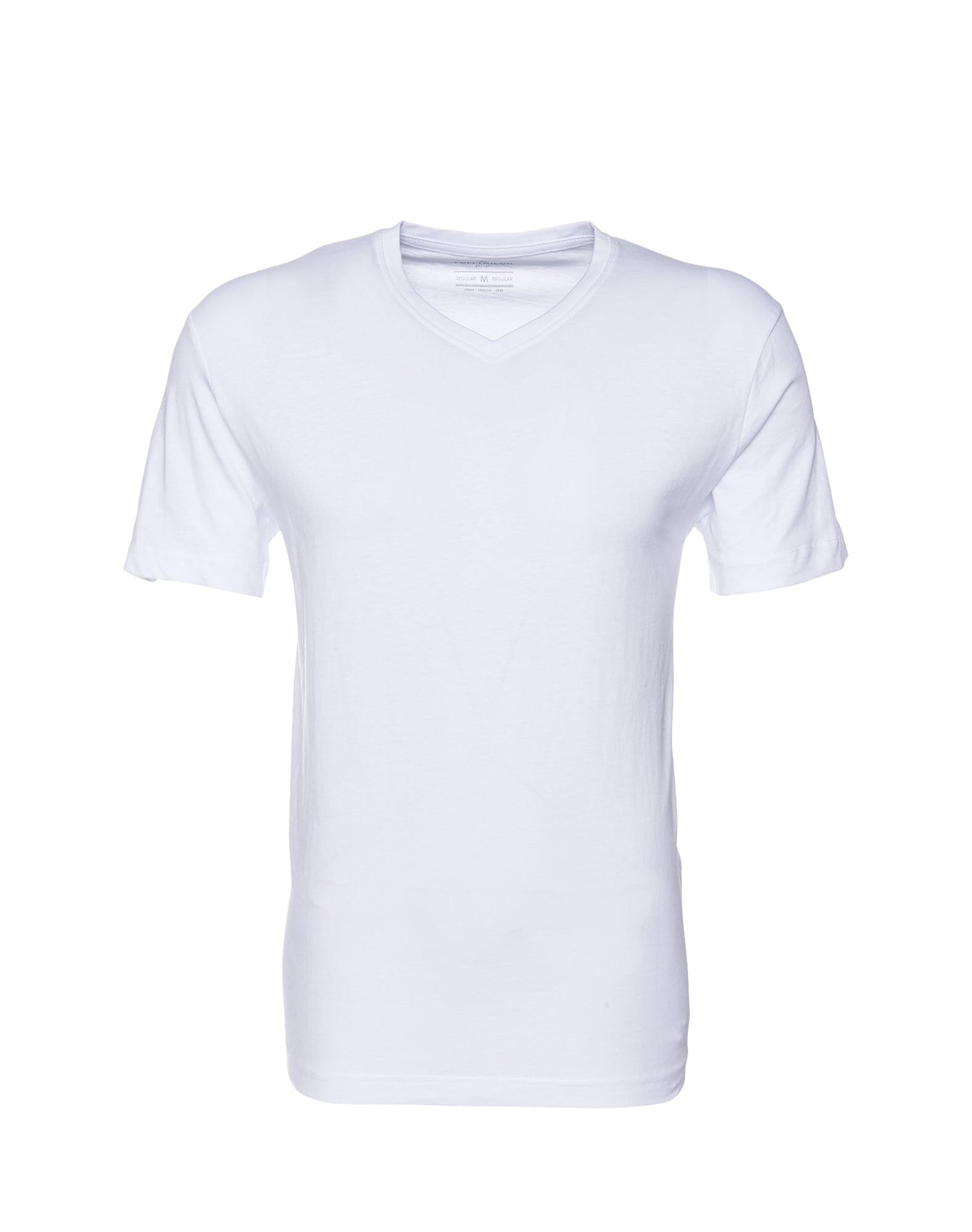 TOM TAILOR, Heren Shirt, wit