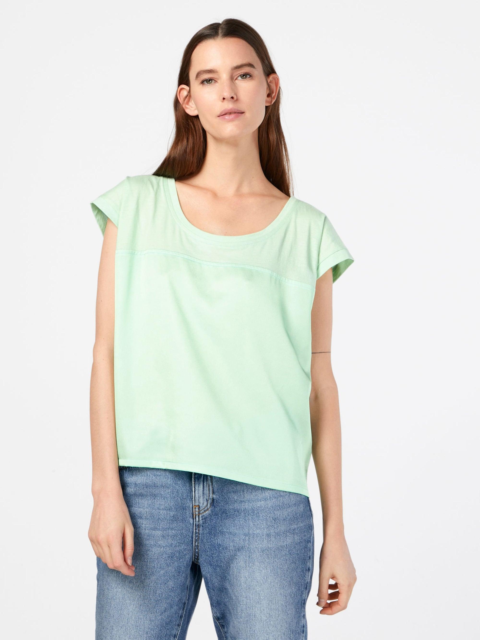 NÜMPH Koszulka 'Celestina'  pastelowy zielony