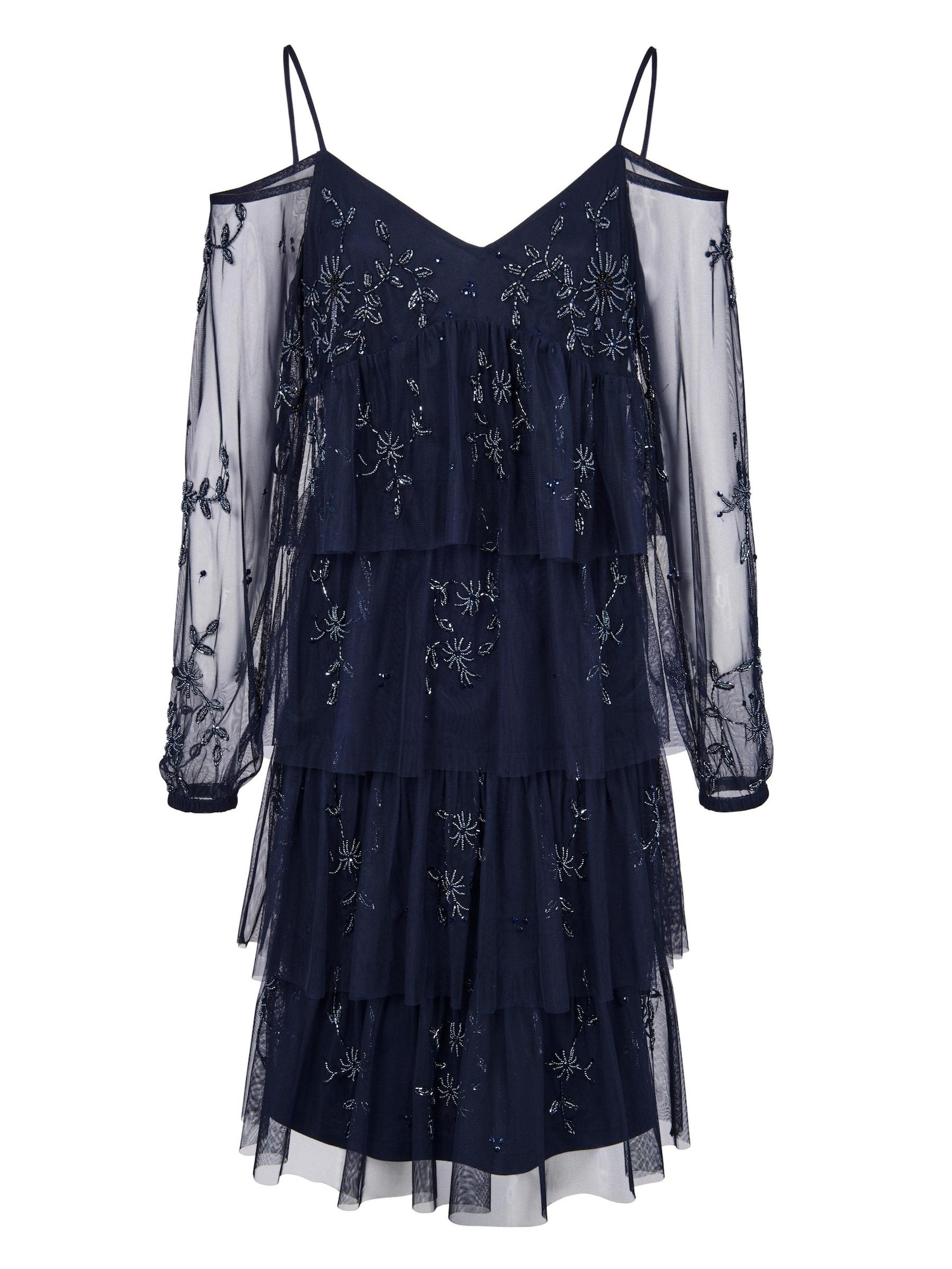 Heine Sukienka koktajlowa  niebieski