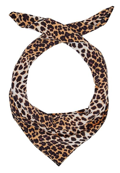 Seidentuch mit Leoparden-Print