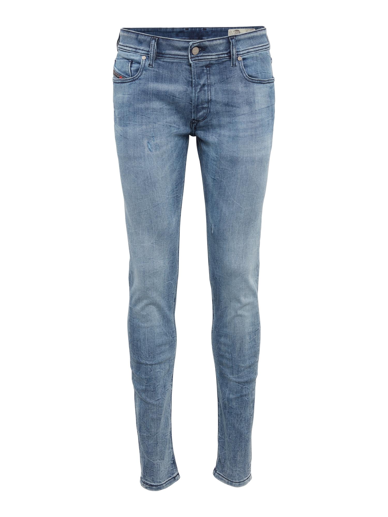 DIESEL Heren Jeans Sleenker blue denim