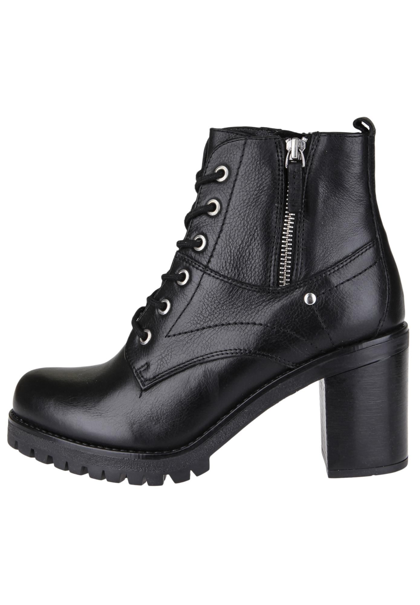 Plateau-Stiefelette zum Schnüren | Schuhe > Stiefeletten > Plateaustiefeletten | COX