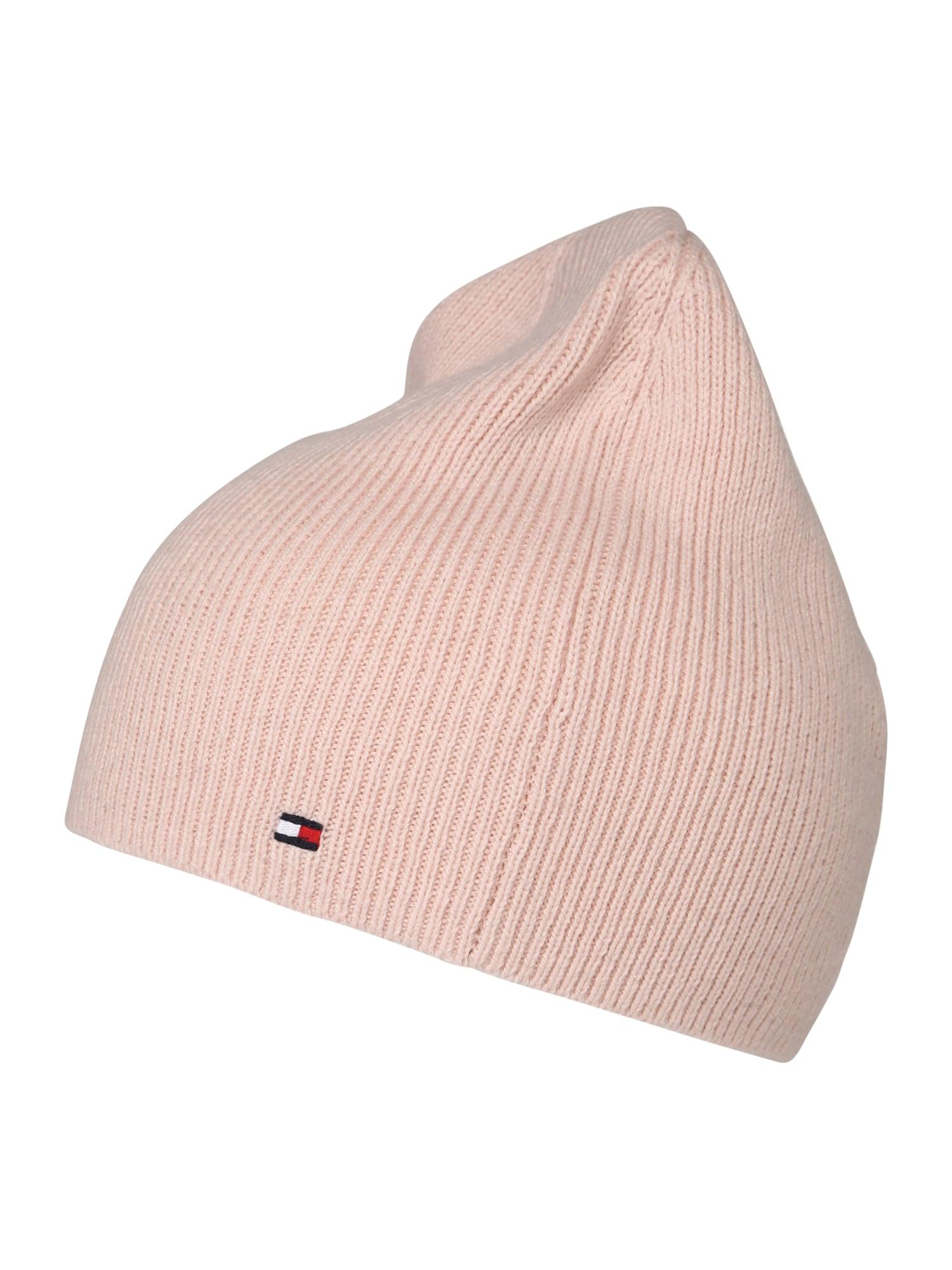 Čepice růžová TOMMY HILFIGER