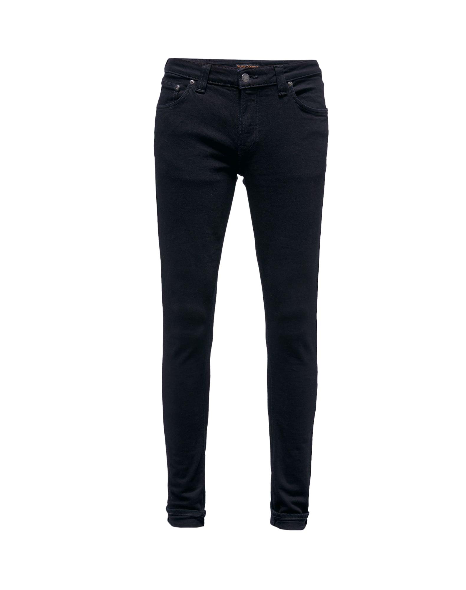 Džíny Skinny Lin černá Nudie Jeans Co