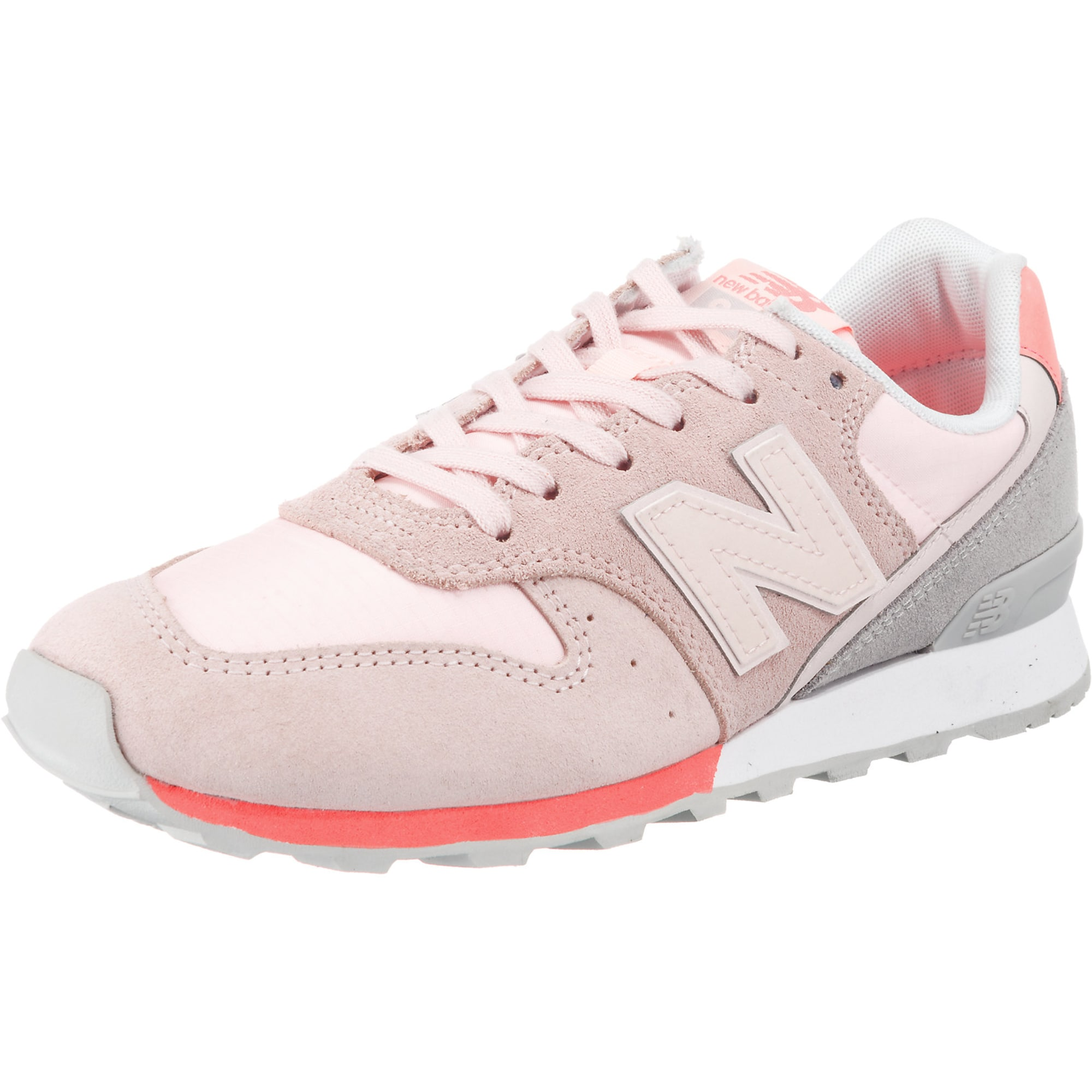 New Balance, Dames Sneakers laag 'WR996-STG-D', lichtoranje / pink / oudroze
