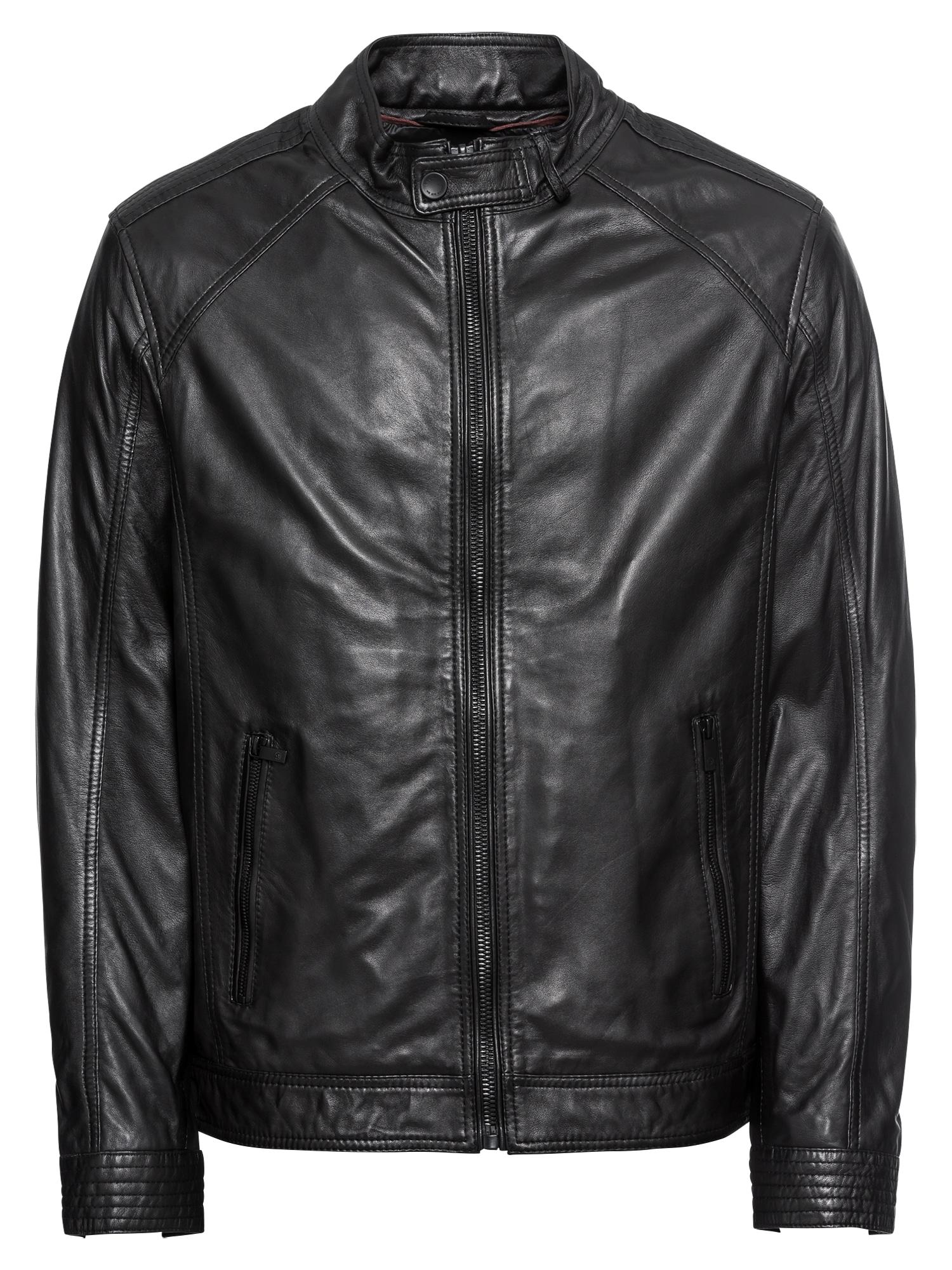 Přechodná bunda 5611 černá Bugatti