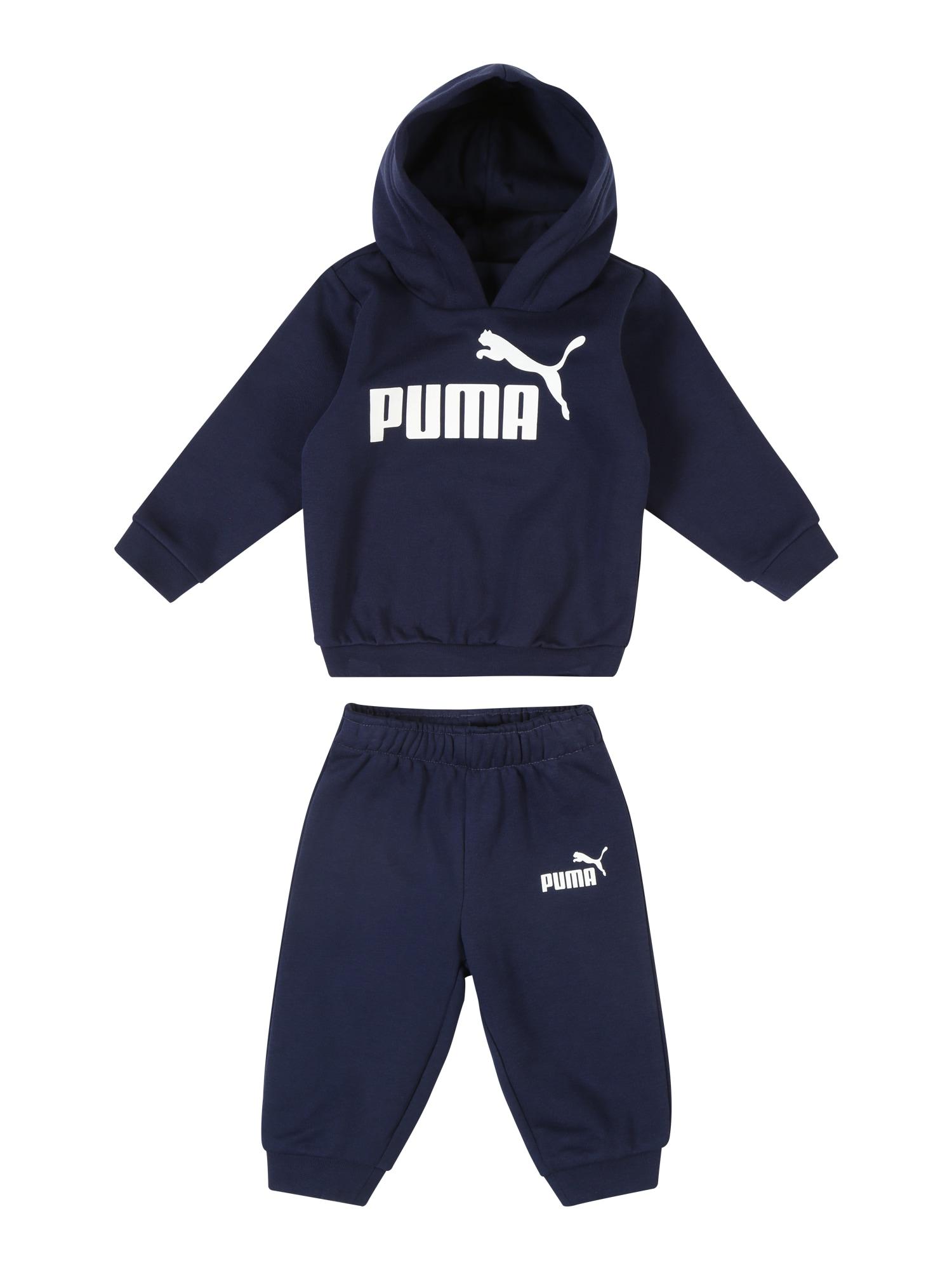 Joggingová souprava Minicats No. 1 námořnická modř bílá PUMA